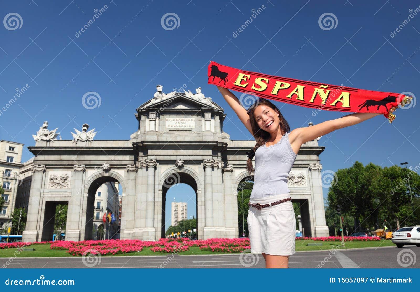 马德里西班牙游人