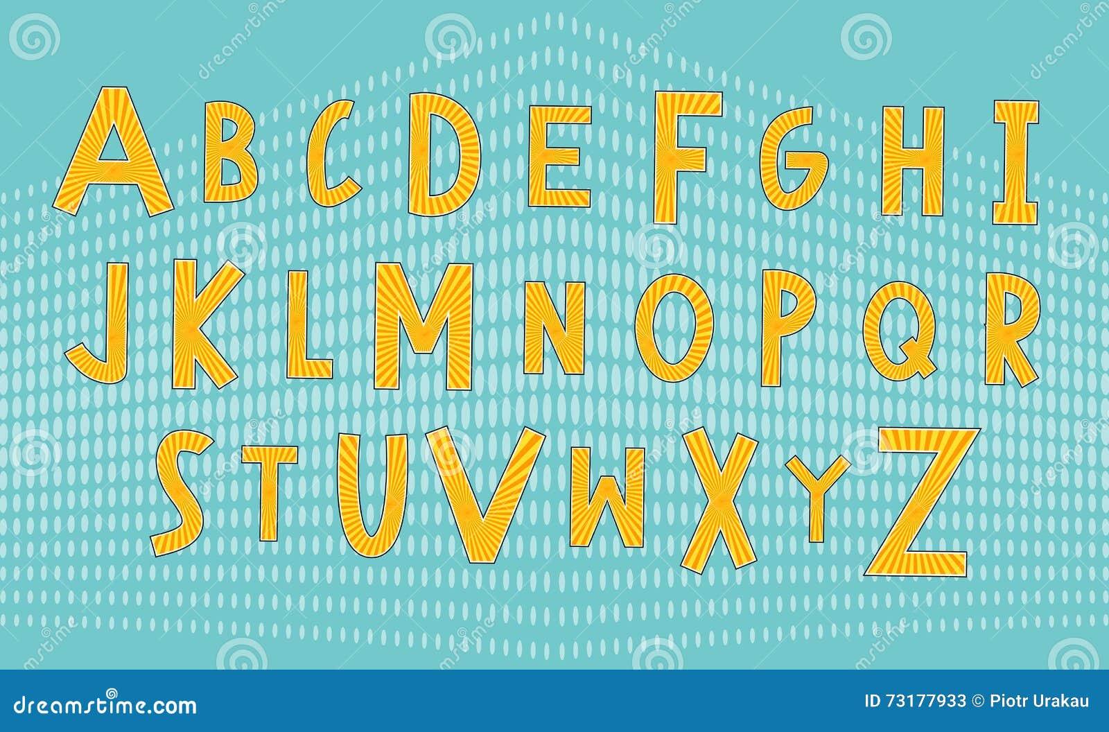 马戏和可笑的字体