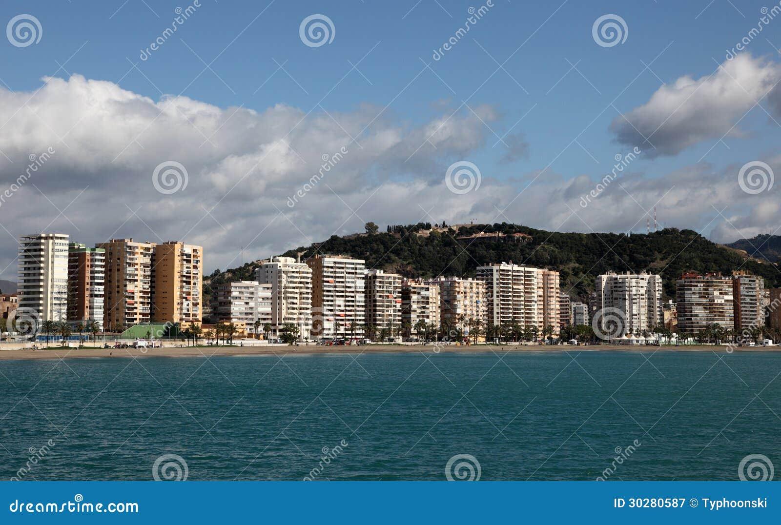 市马拉加。 安大路西亚,西班牙