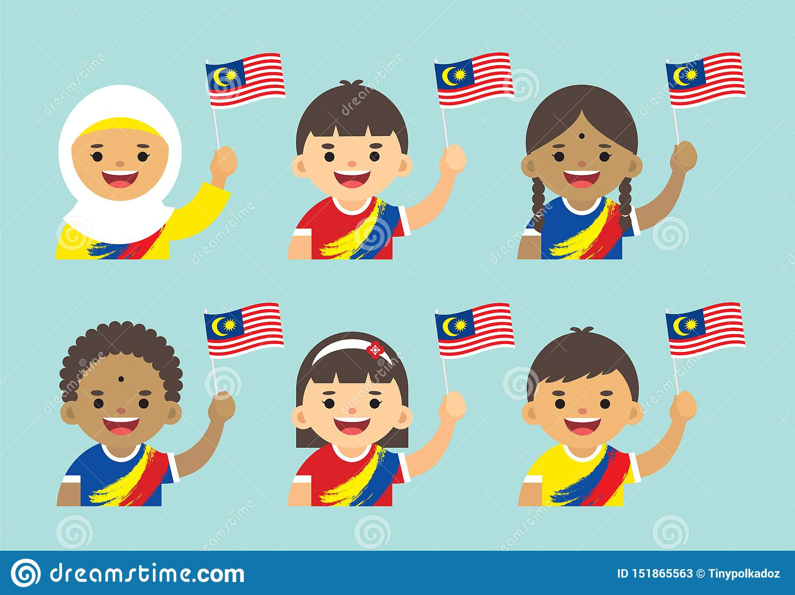 马来西亚美国独立日-马来西亚藏品马来西亚旗子