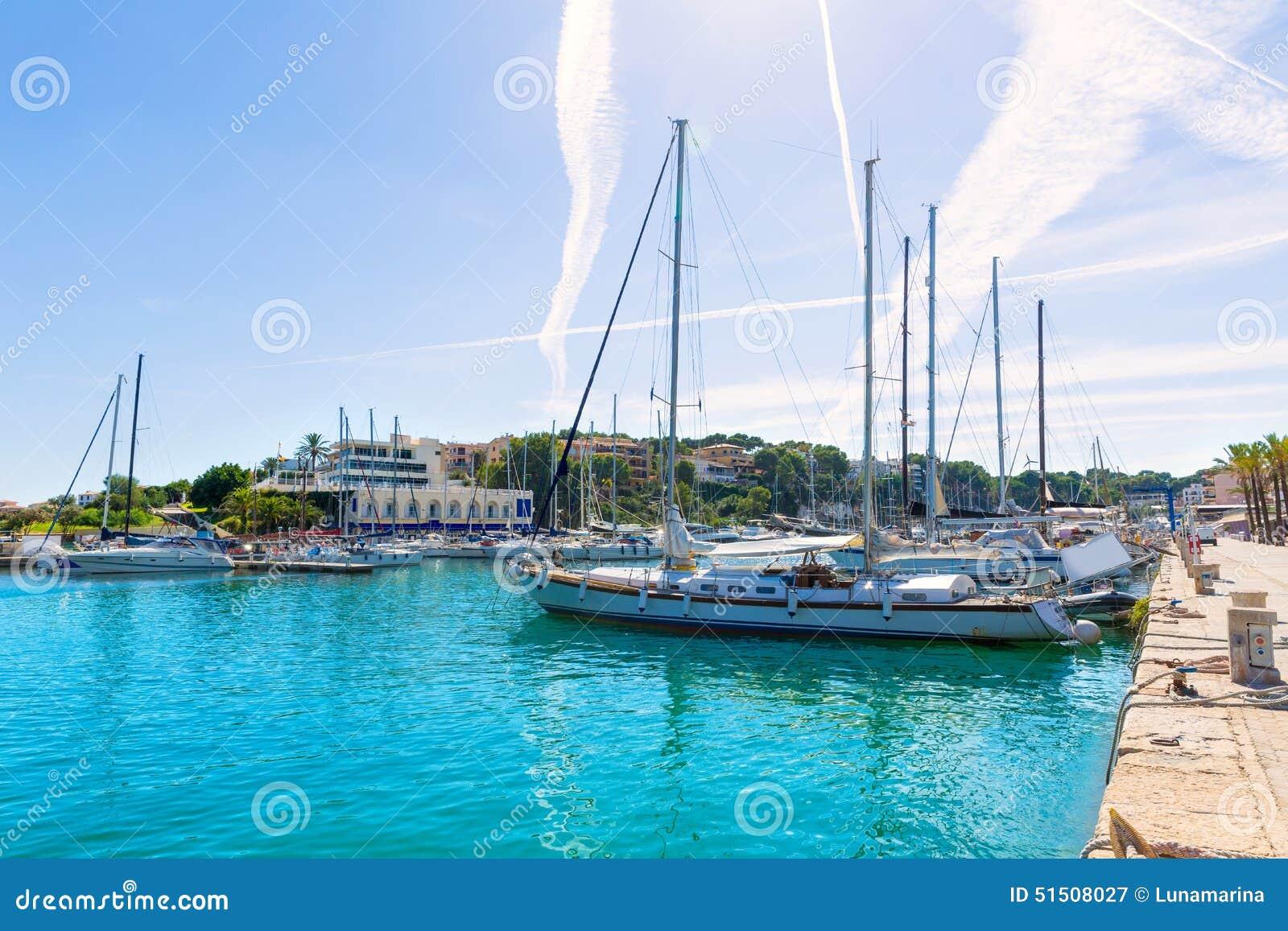 马略卡波尔图克里斯多小游艇船坞口岸马纳科尔马略卡