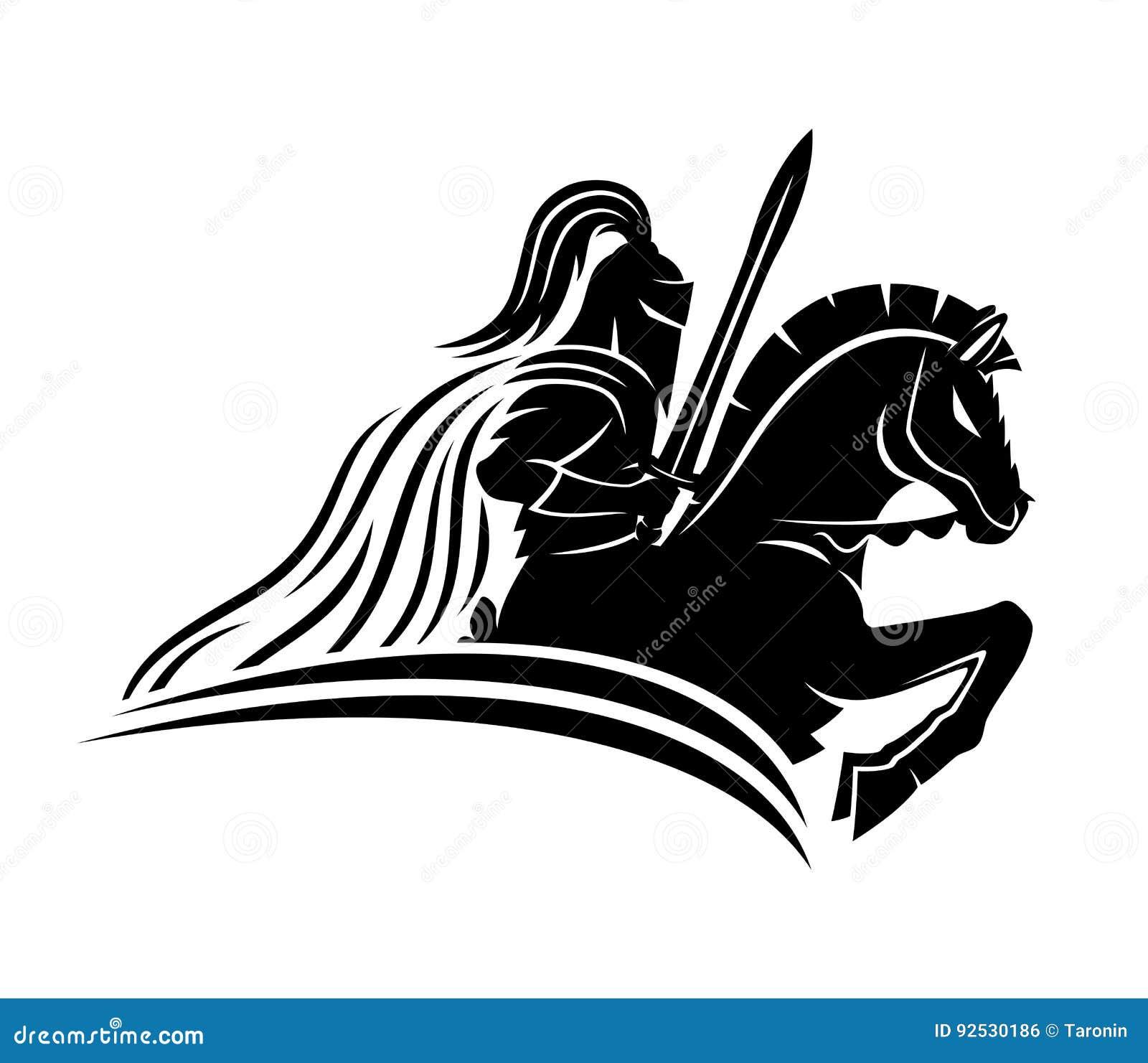 马的一个骑士