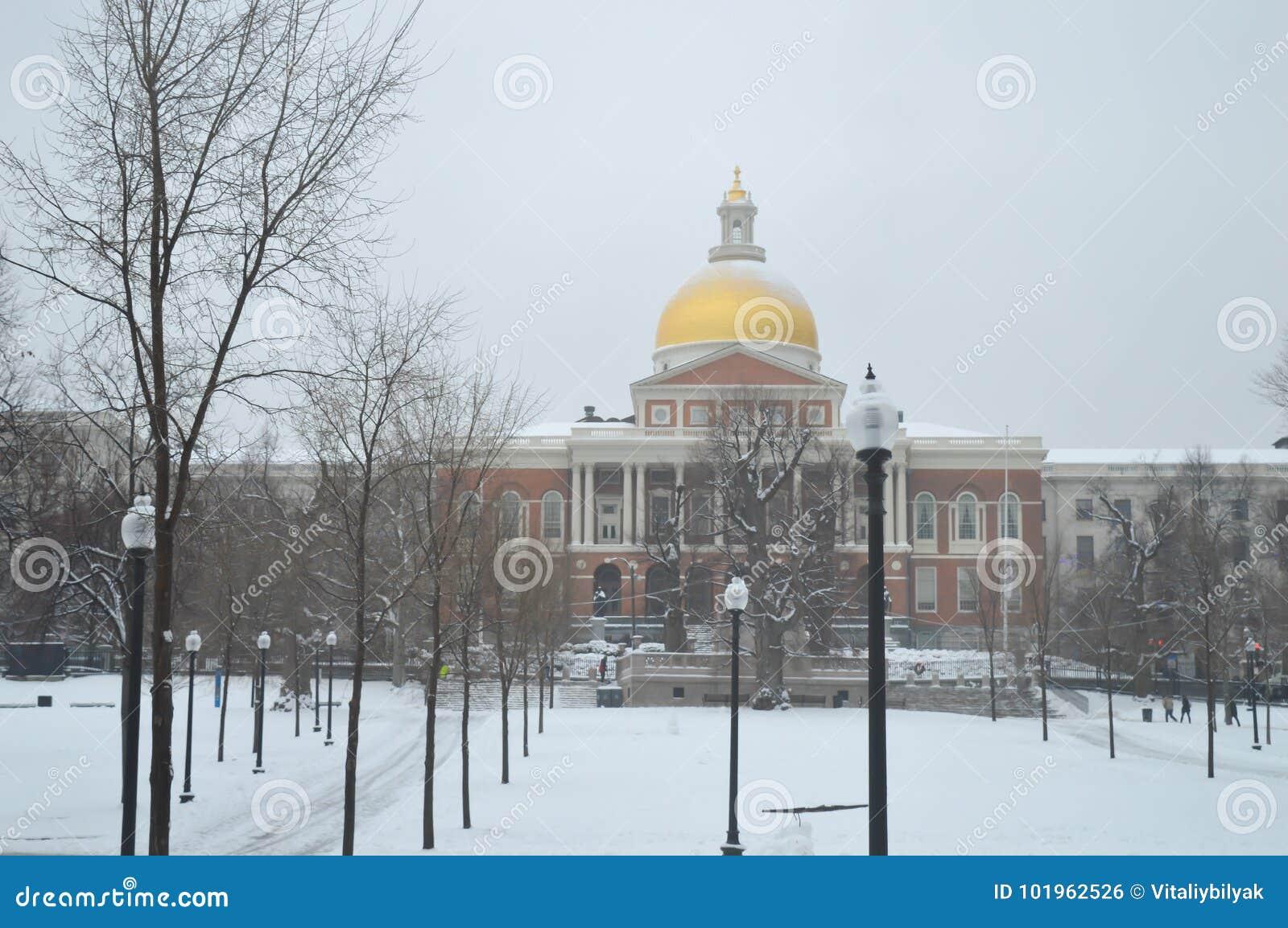 马萨诸塞状态议院在波士顿, 2016年12月11日的美国
