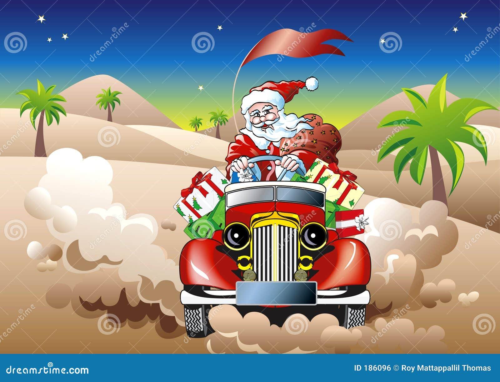 驱动圣诞老人