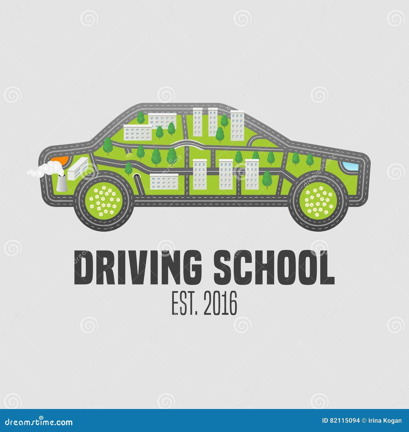 驾照学校导航商标,标志,象征