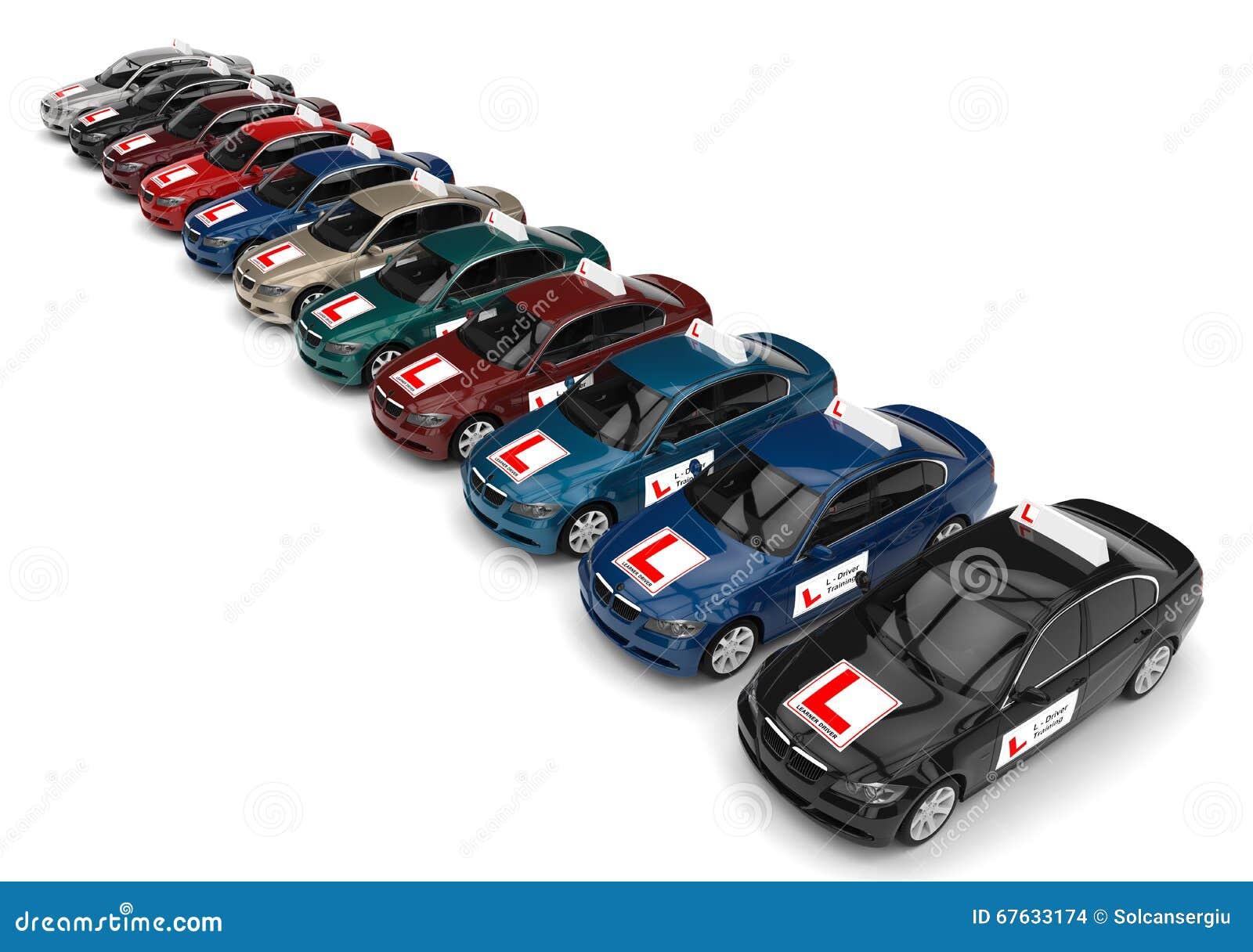 驾照学校概念