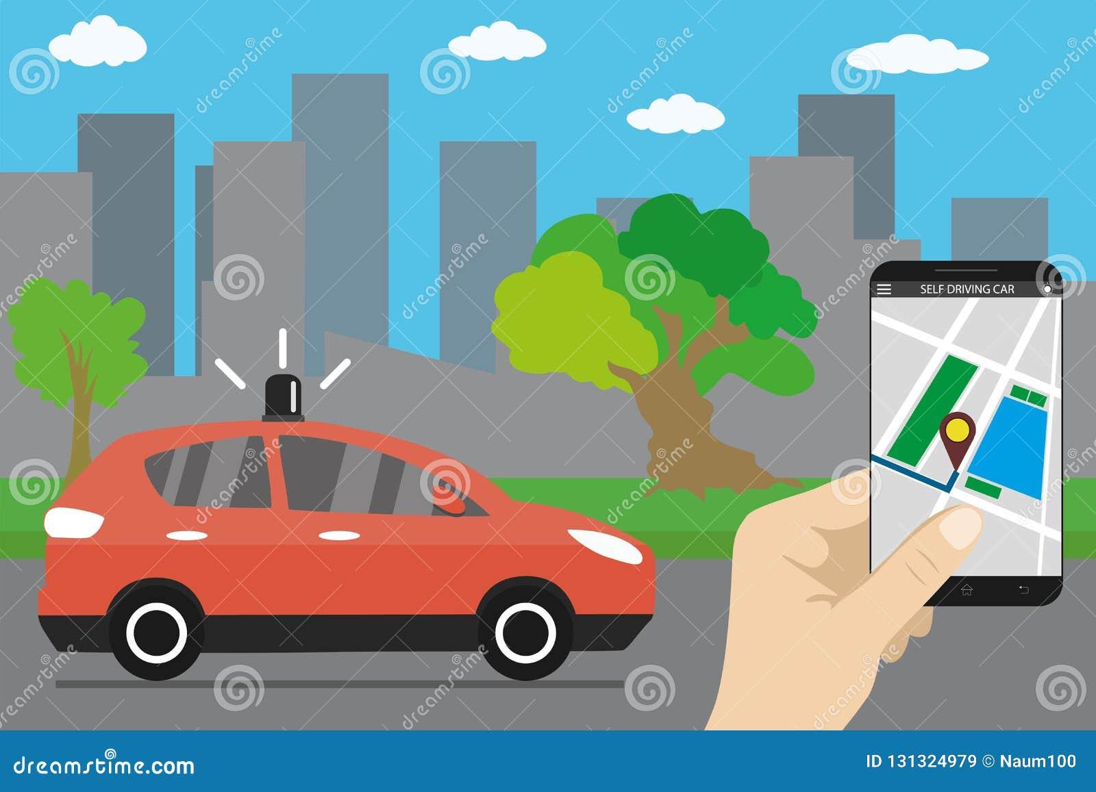 驾驶汽车,城市地标的自已