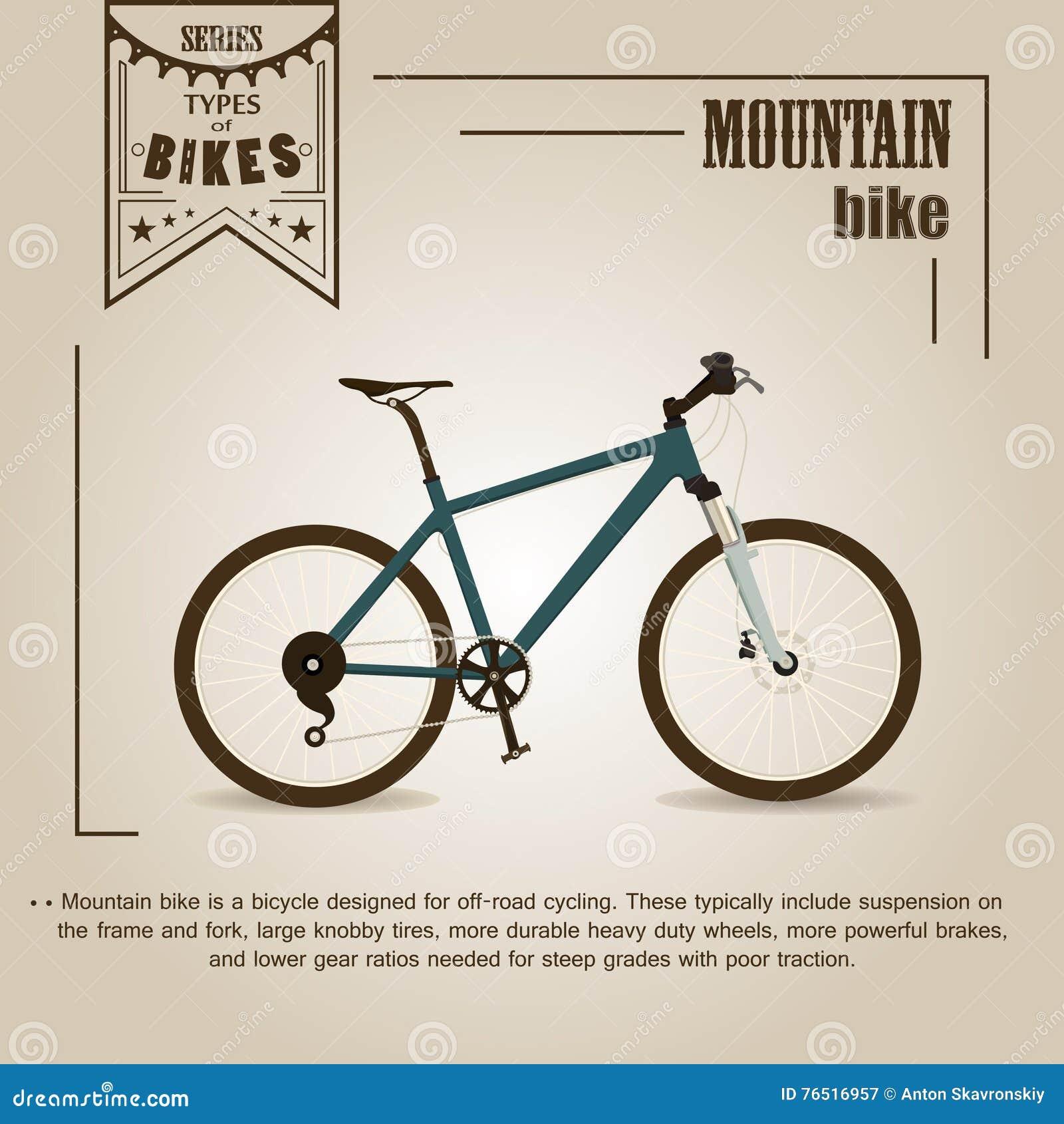 骑自行车浅骑自行车的骑自行车者深度域重点森林现有量山的透视图