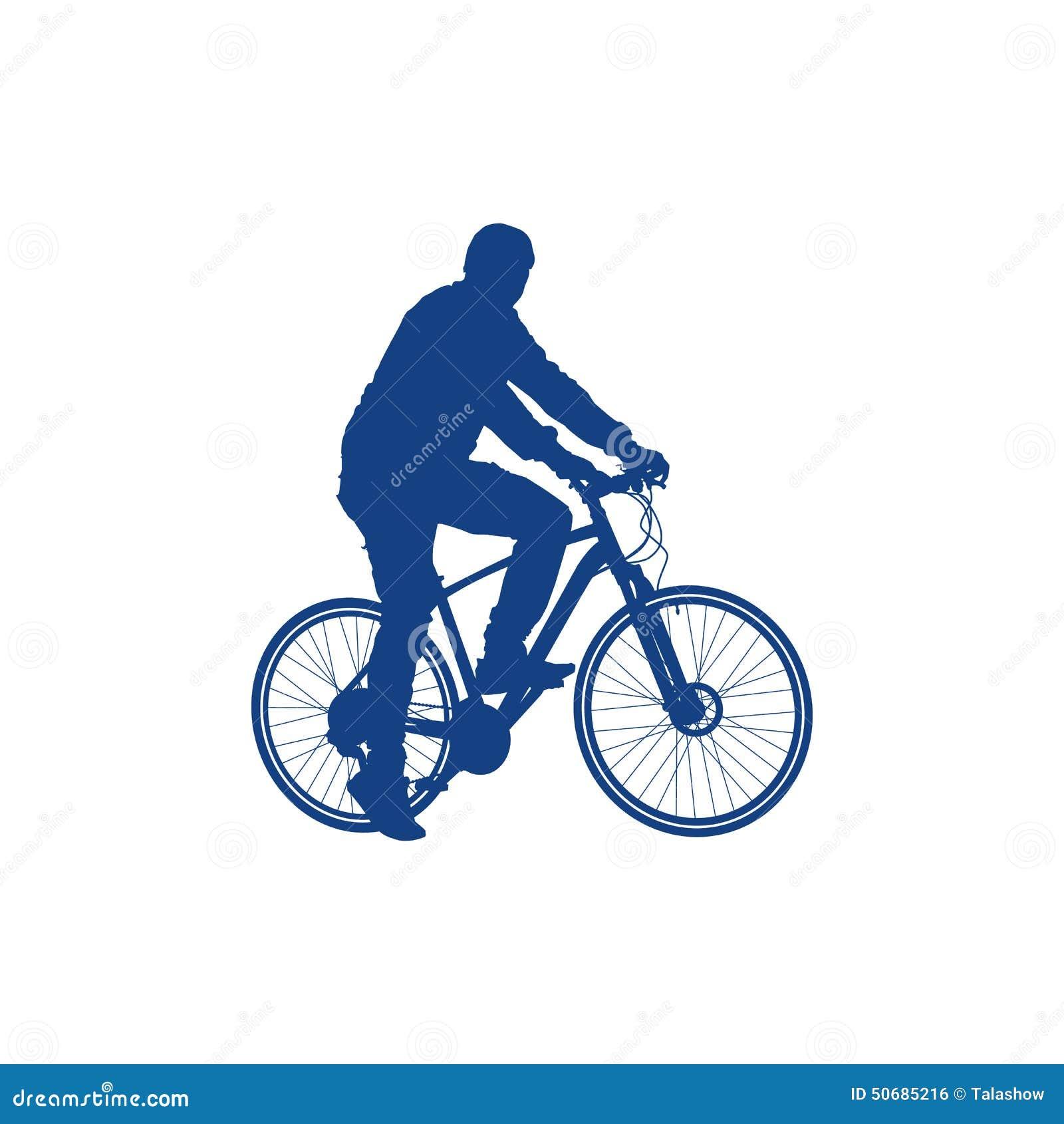 Download 骑自行车者的剪影 向量例证. 插画 包括有 人力, 男朋友, 自行车, 人们, 等高, 单车手, 循环, 健康 - 50685216