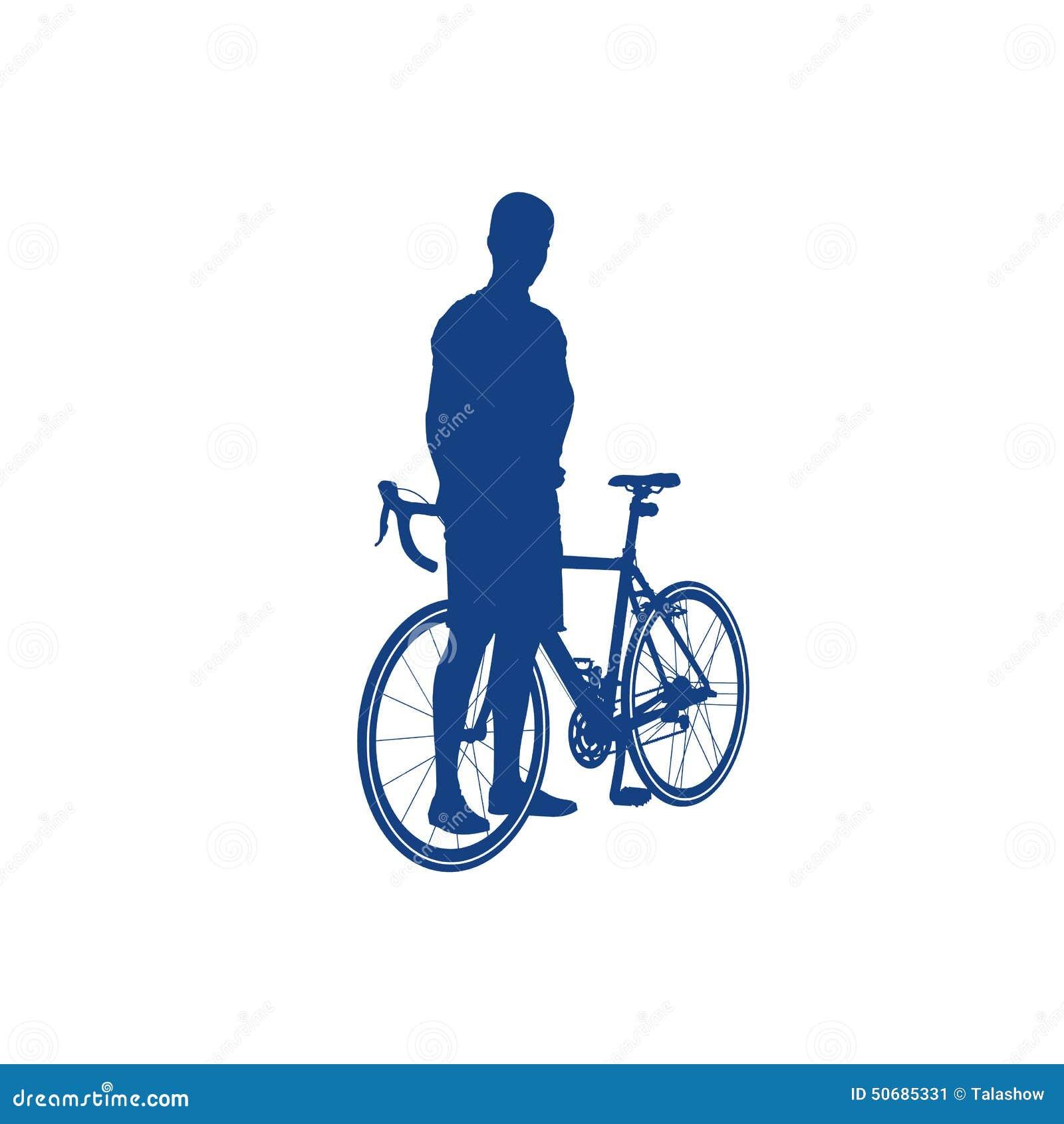Download 骑自行车者的剪影 向量例证. 插画 包括有 女演员, 自行车, 曲线, 有效地, 极其, 例证, 自行车骑士 - 50685331