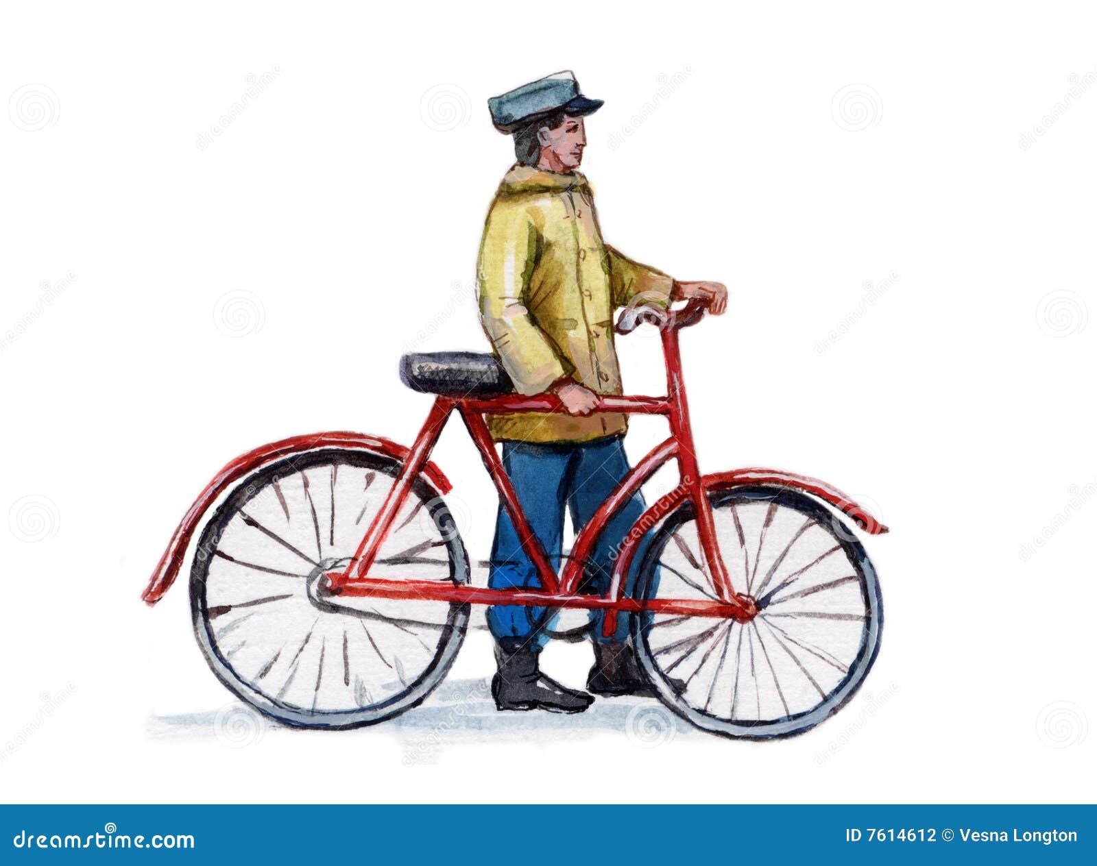 骑自行车葡萄酒