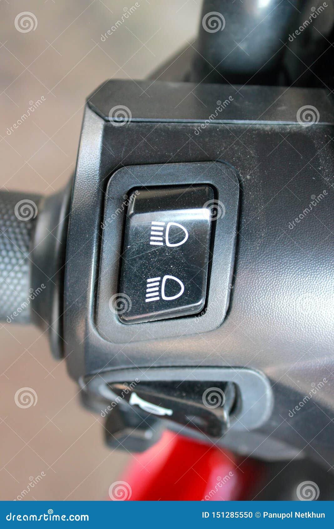 高光,在摩托车的低灯
