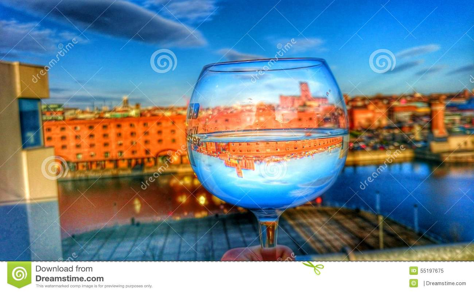 高定义酒杯摄影