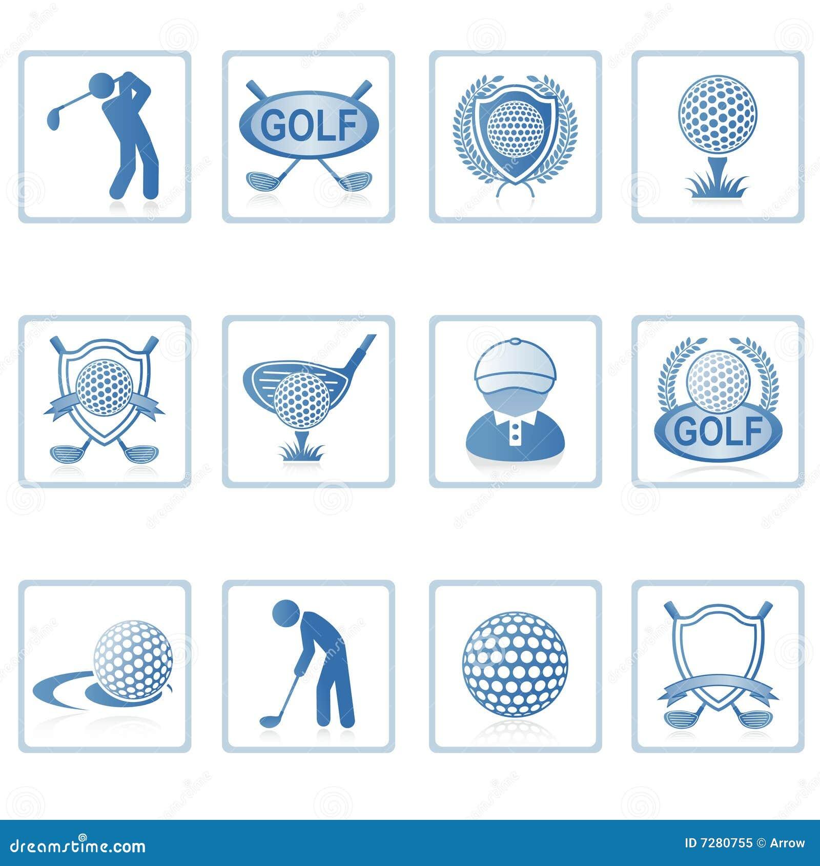 高尔夫球图标ii万维网