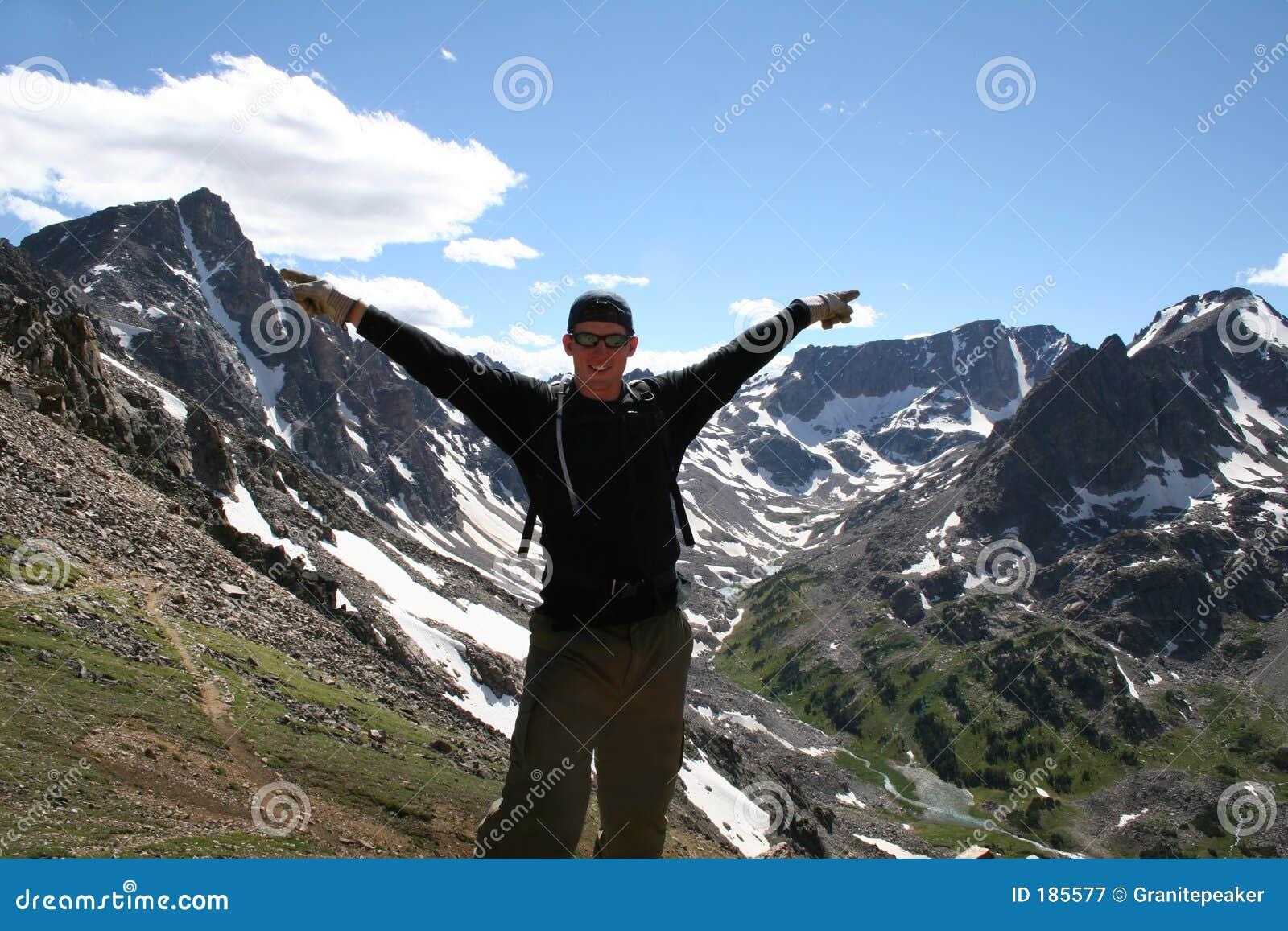 高山高涨的蒙大拿