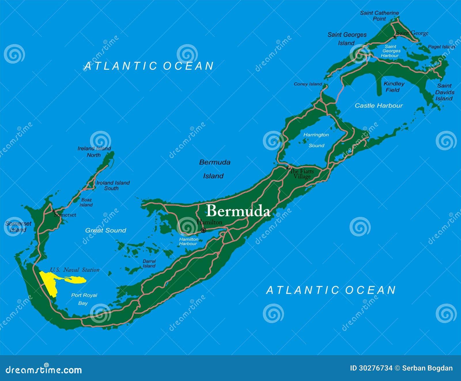 百慕大地图