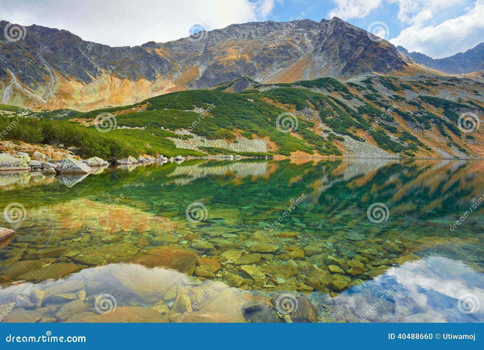 高欧洲山 五个波兰池塘谷