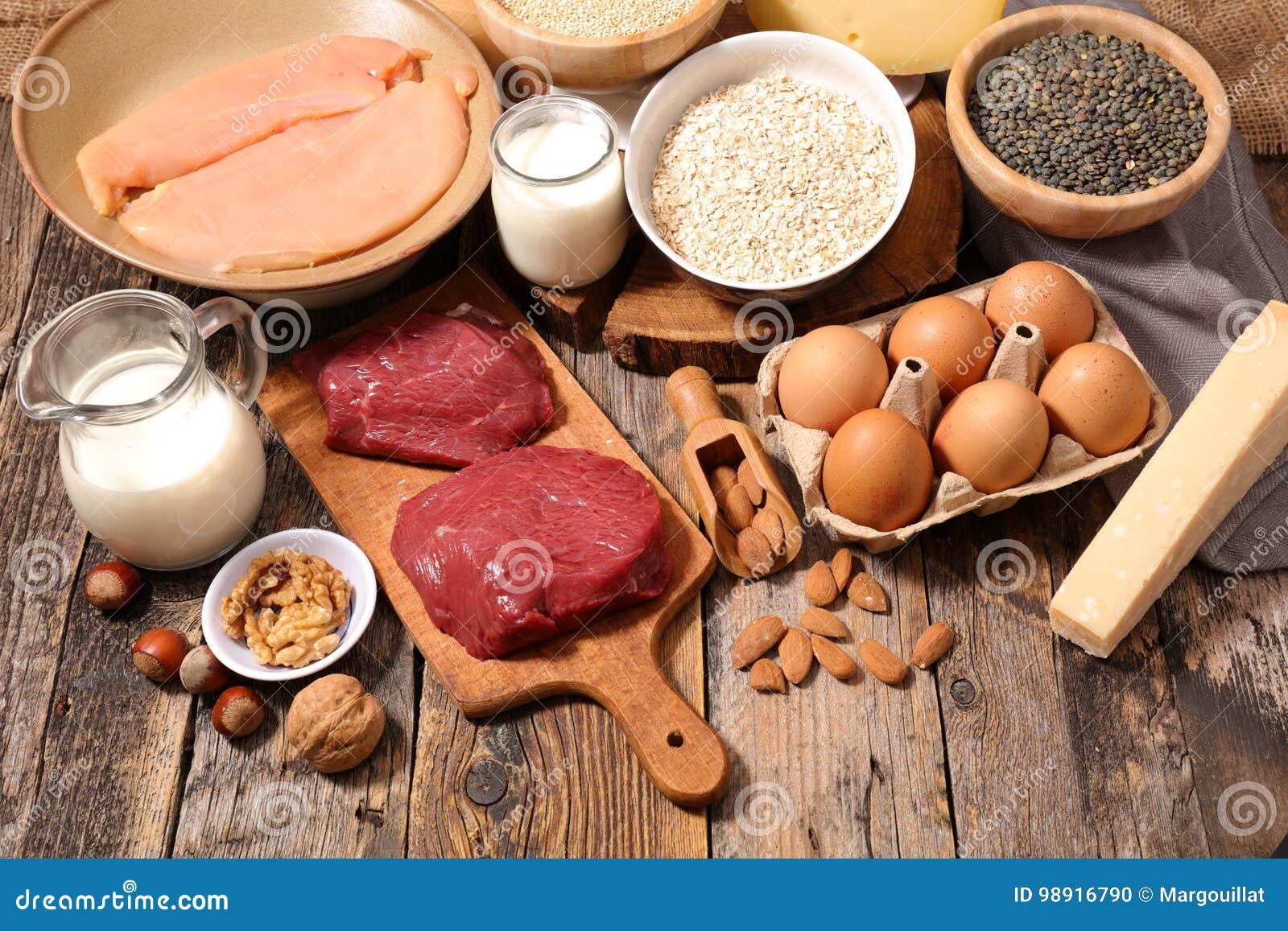 高蛋白的食物