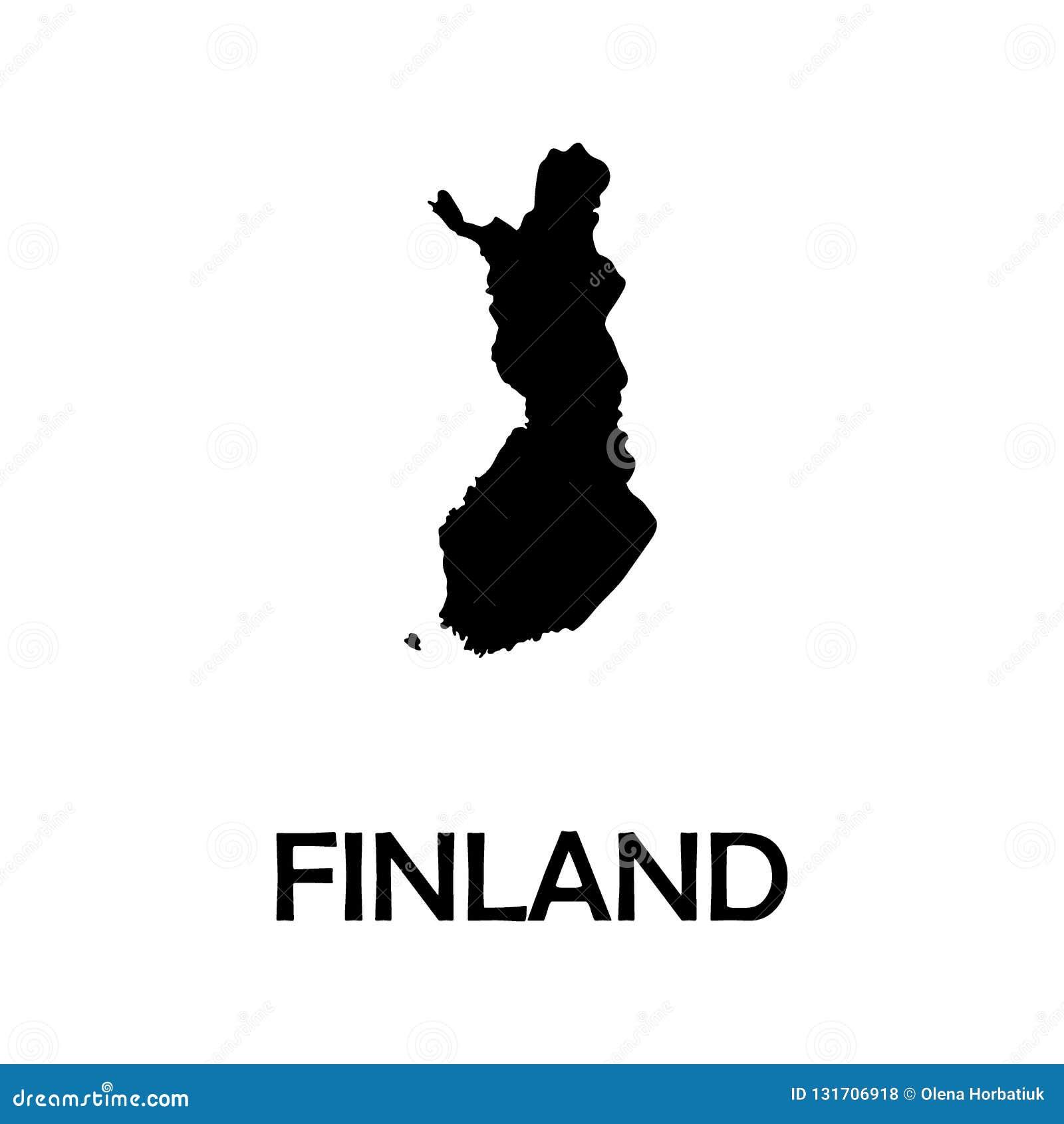 高详细的传染媒介地图-芬兰