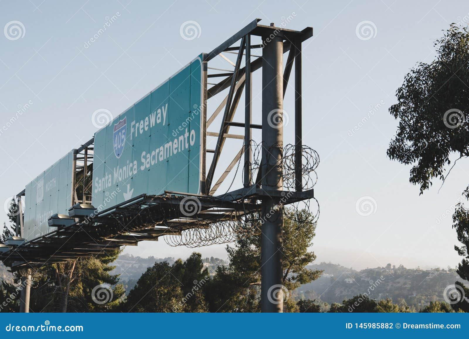 高速公路签到LA