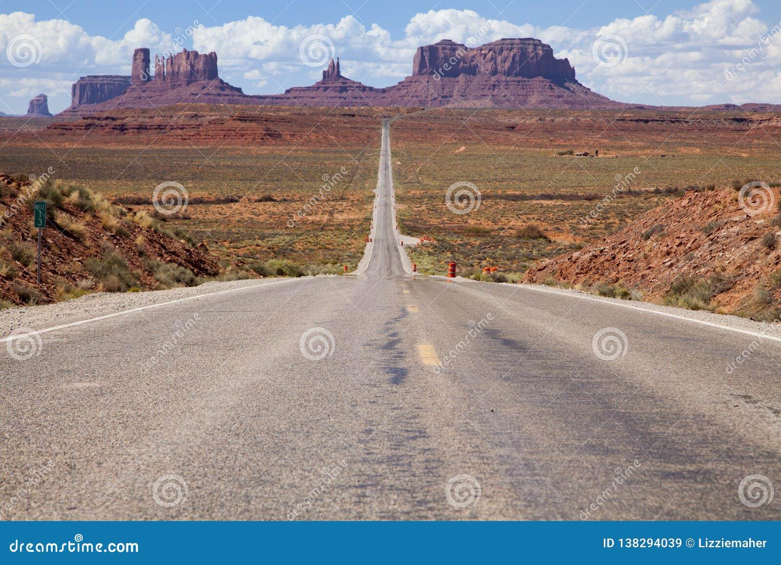 高速公路美国163,犹他