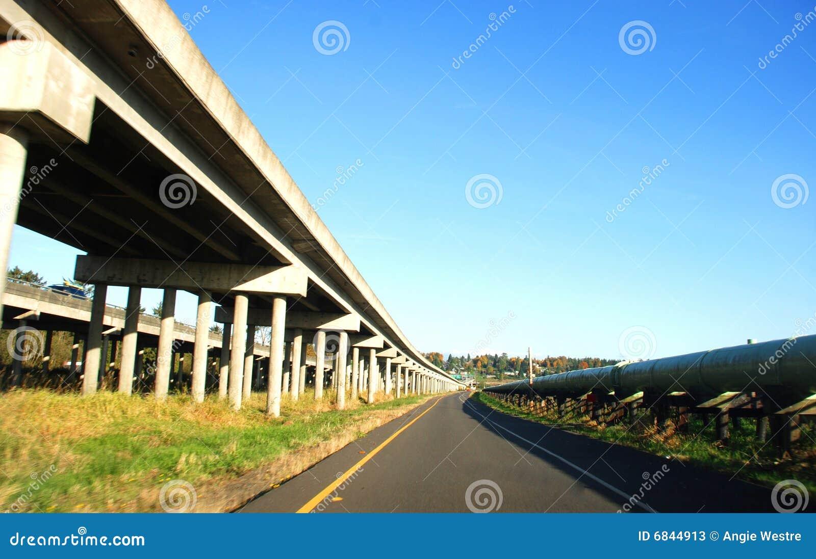 高速公路跨境农村