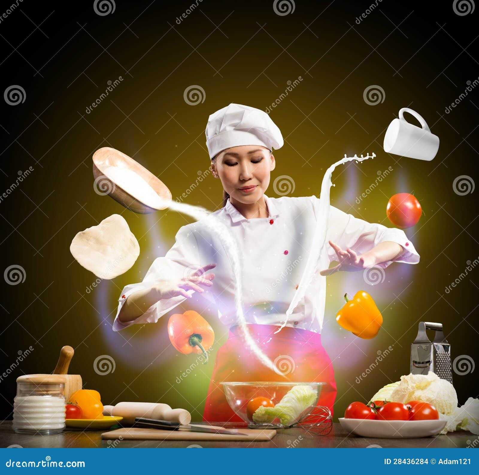 魔术在厨房里