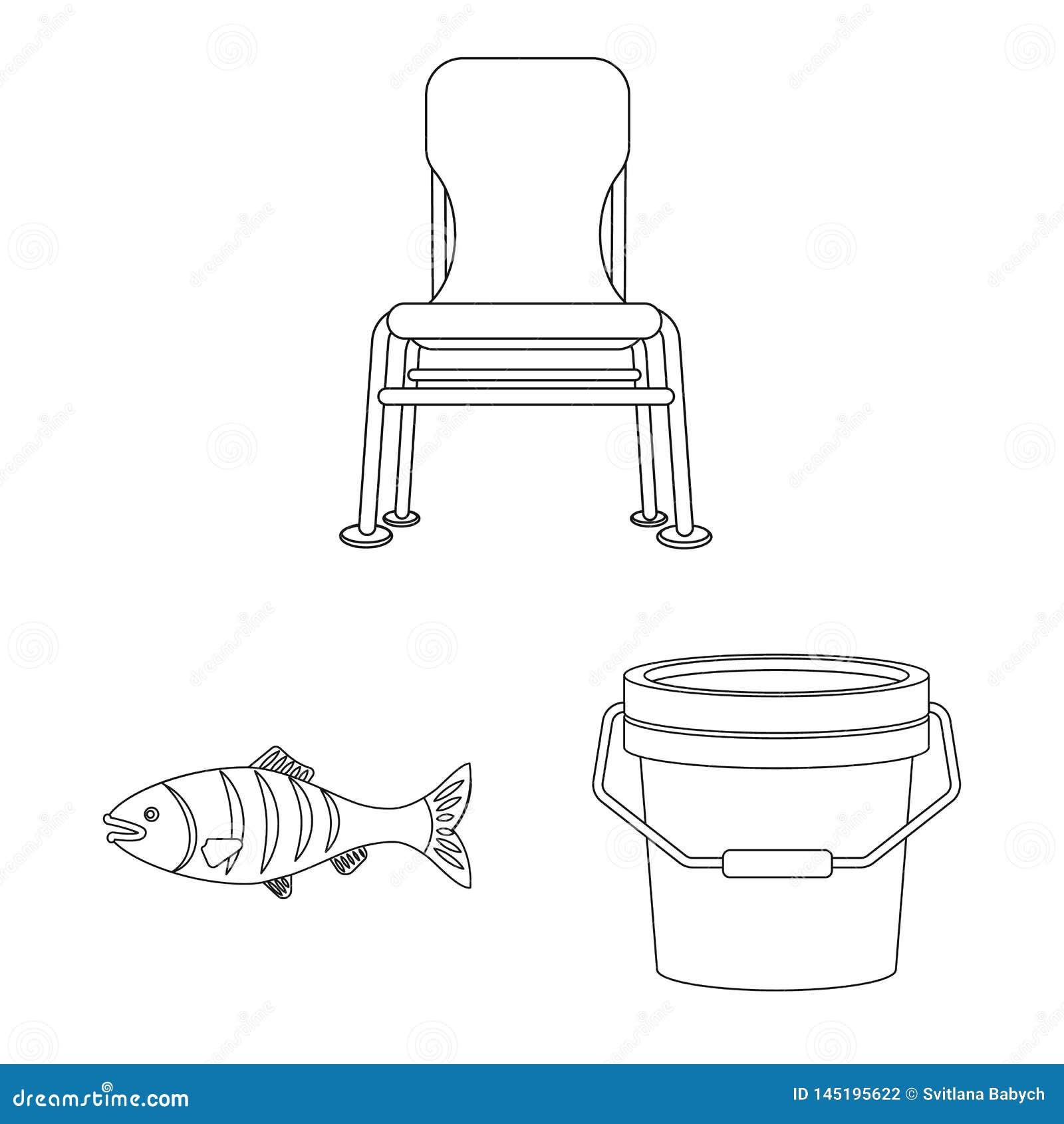 鱼和钓鱼象被隔绝的对象  o
