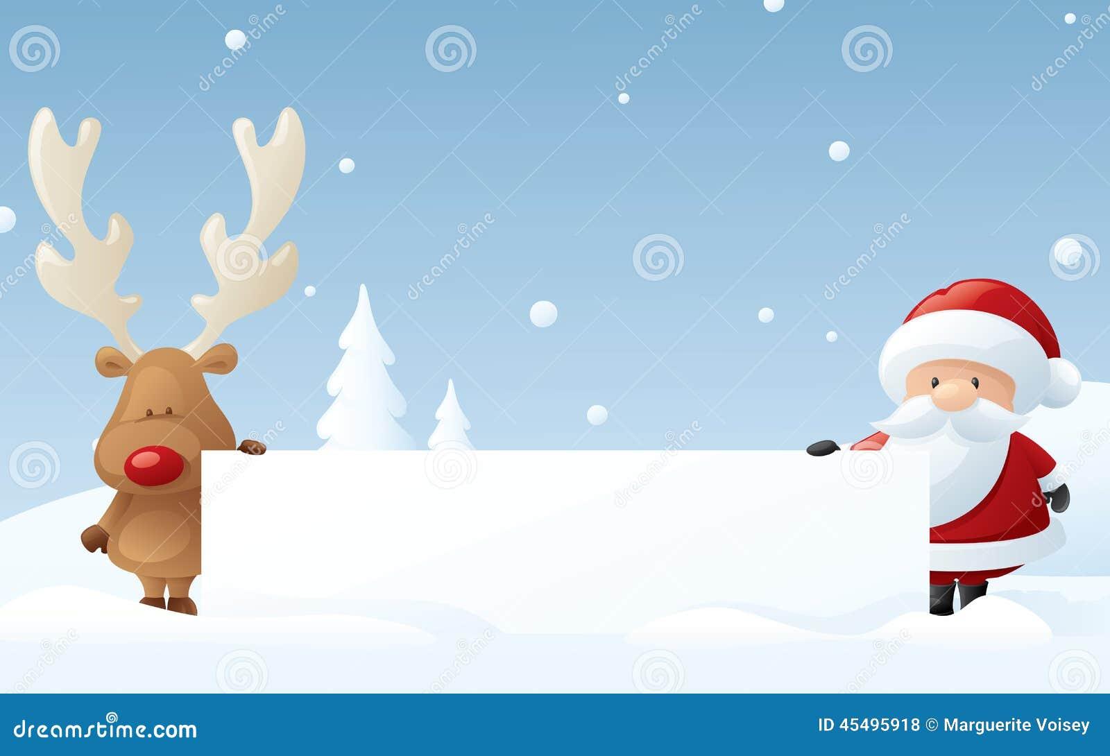从鲁道夫和圣诞老人的消息