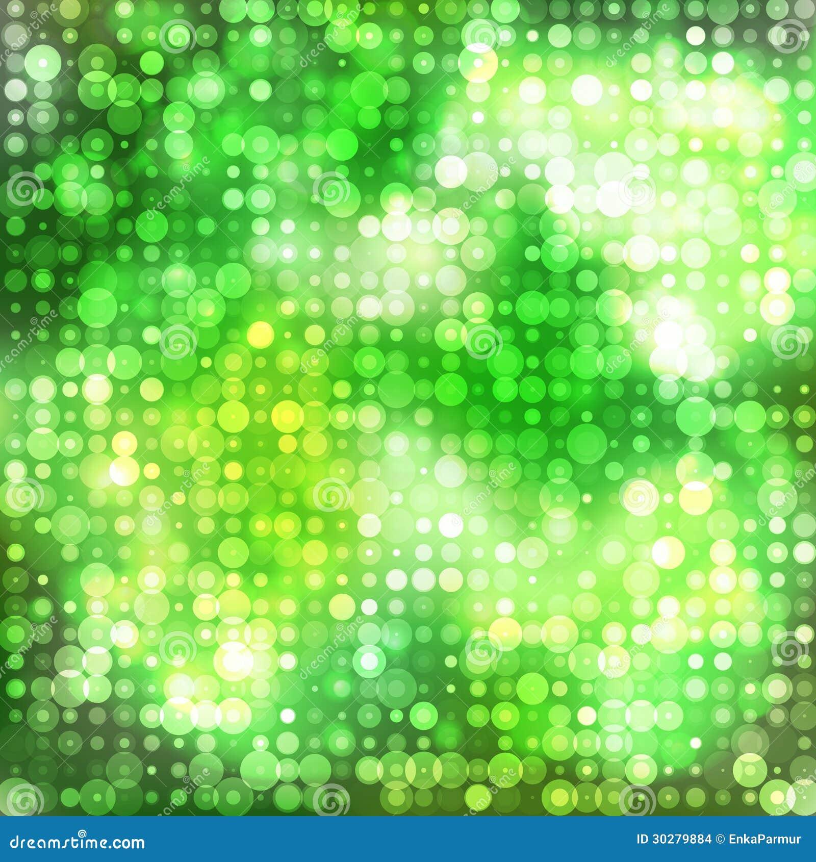 与圈子的绿色抽象背景