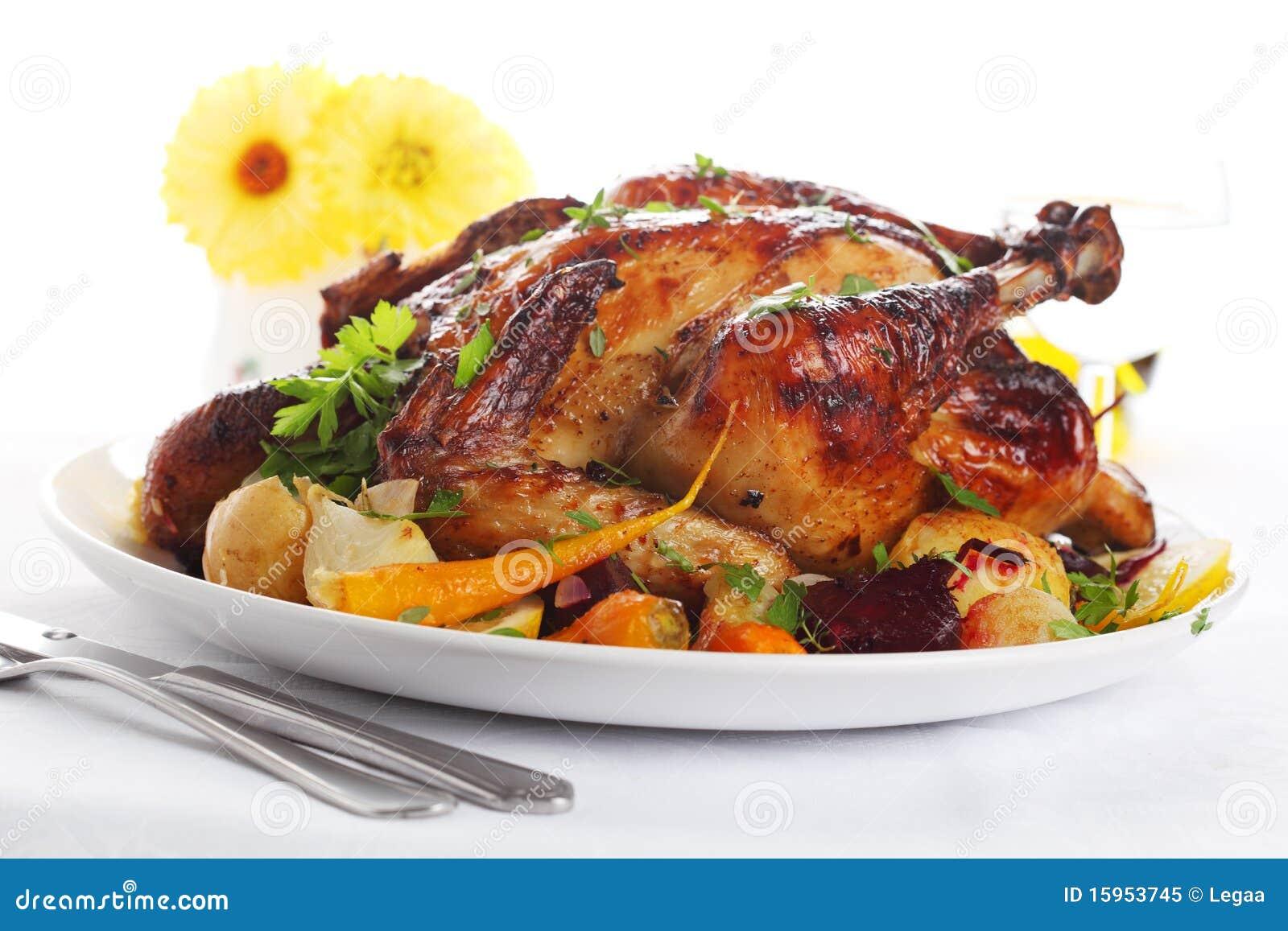 全部�:-f_鸡全部烤的蔬菜