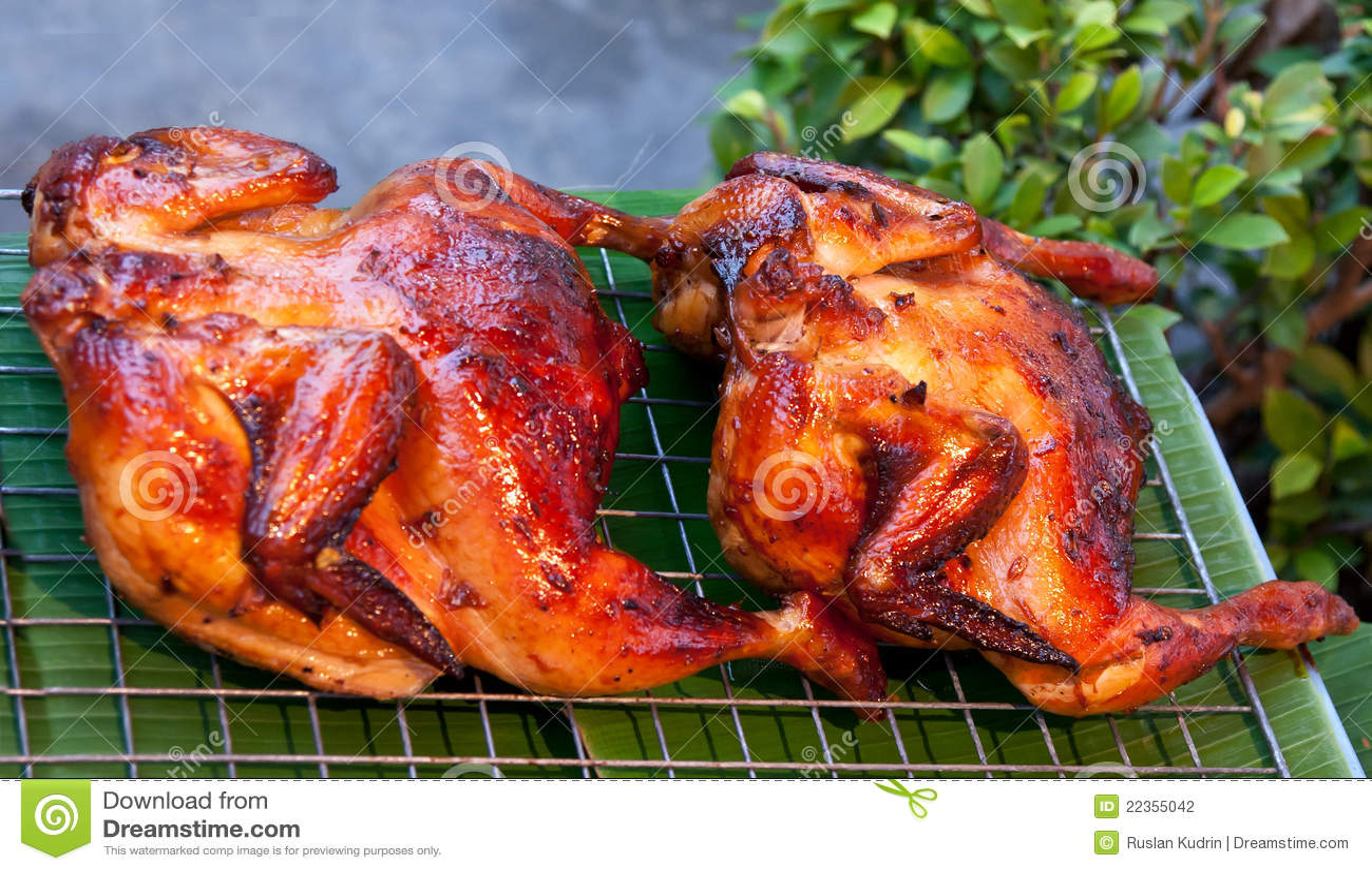 鸡可口烤二