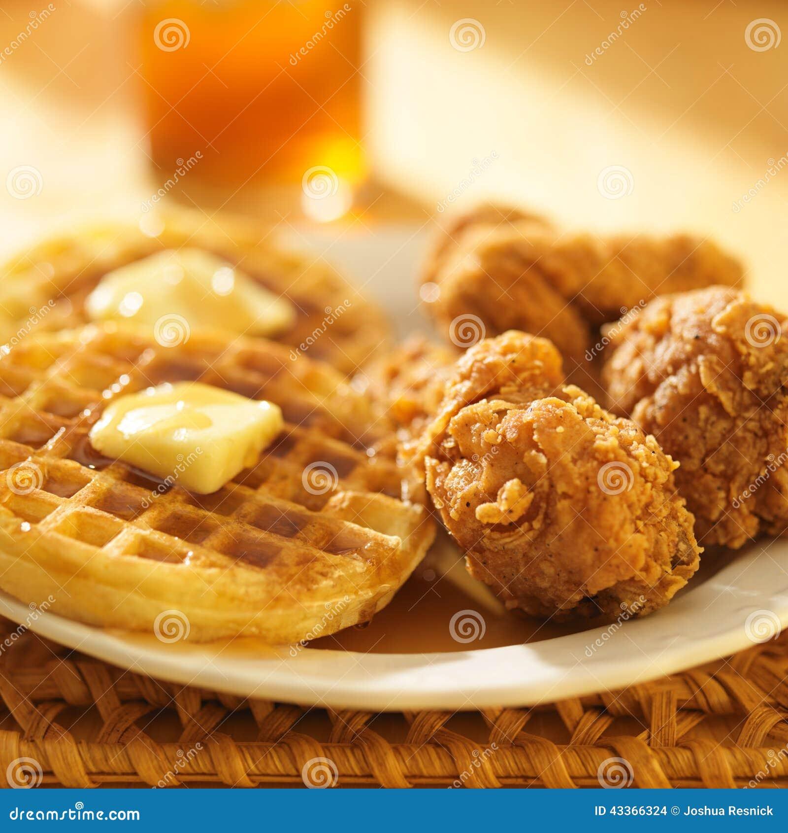 鸡和奶蛋烘饼