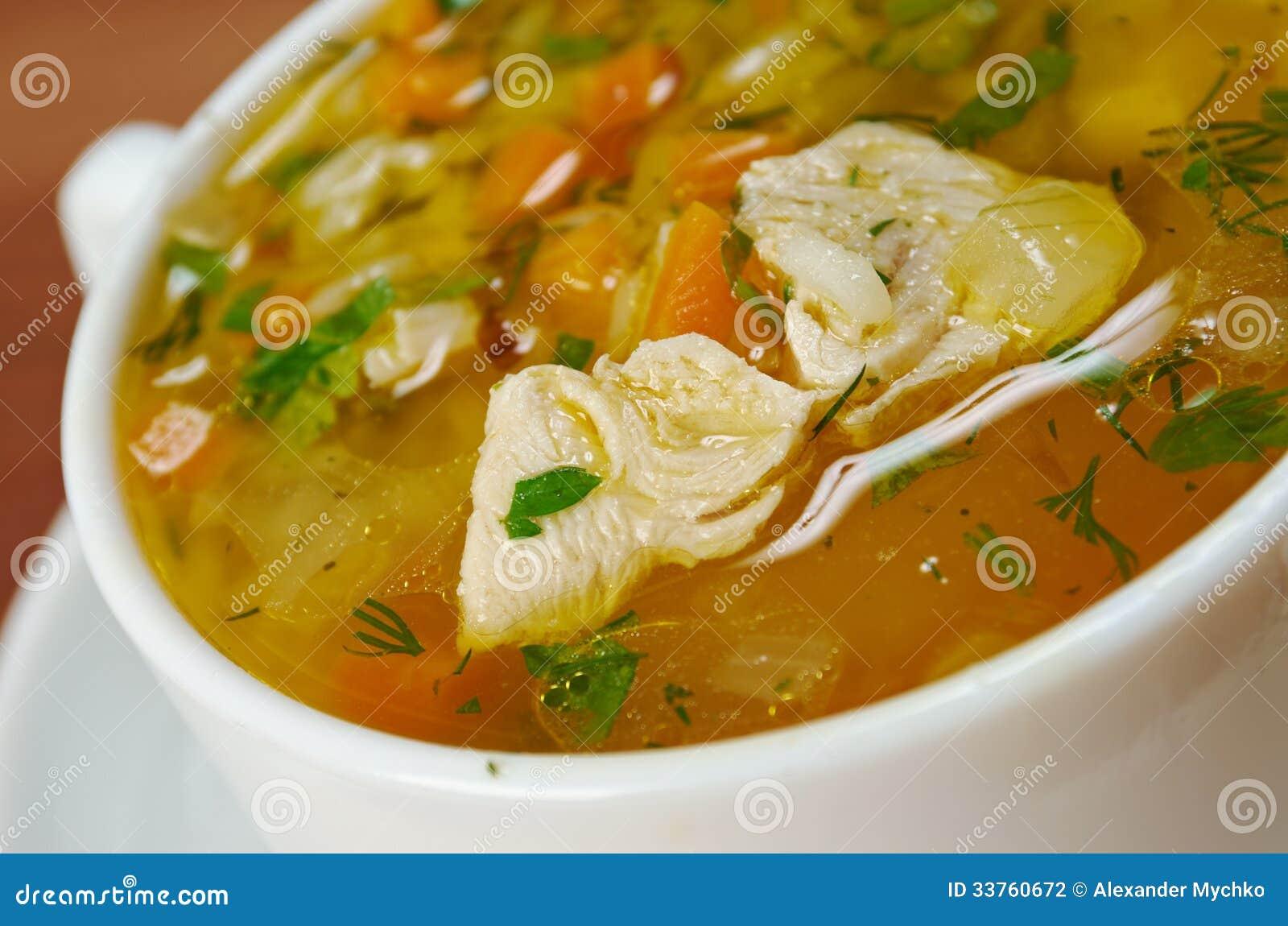 鸡和水菰汤