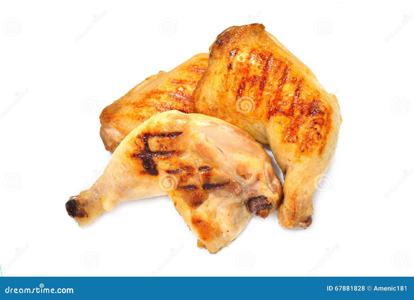 鸡烤了大腿