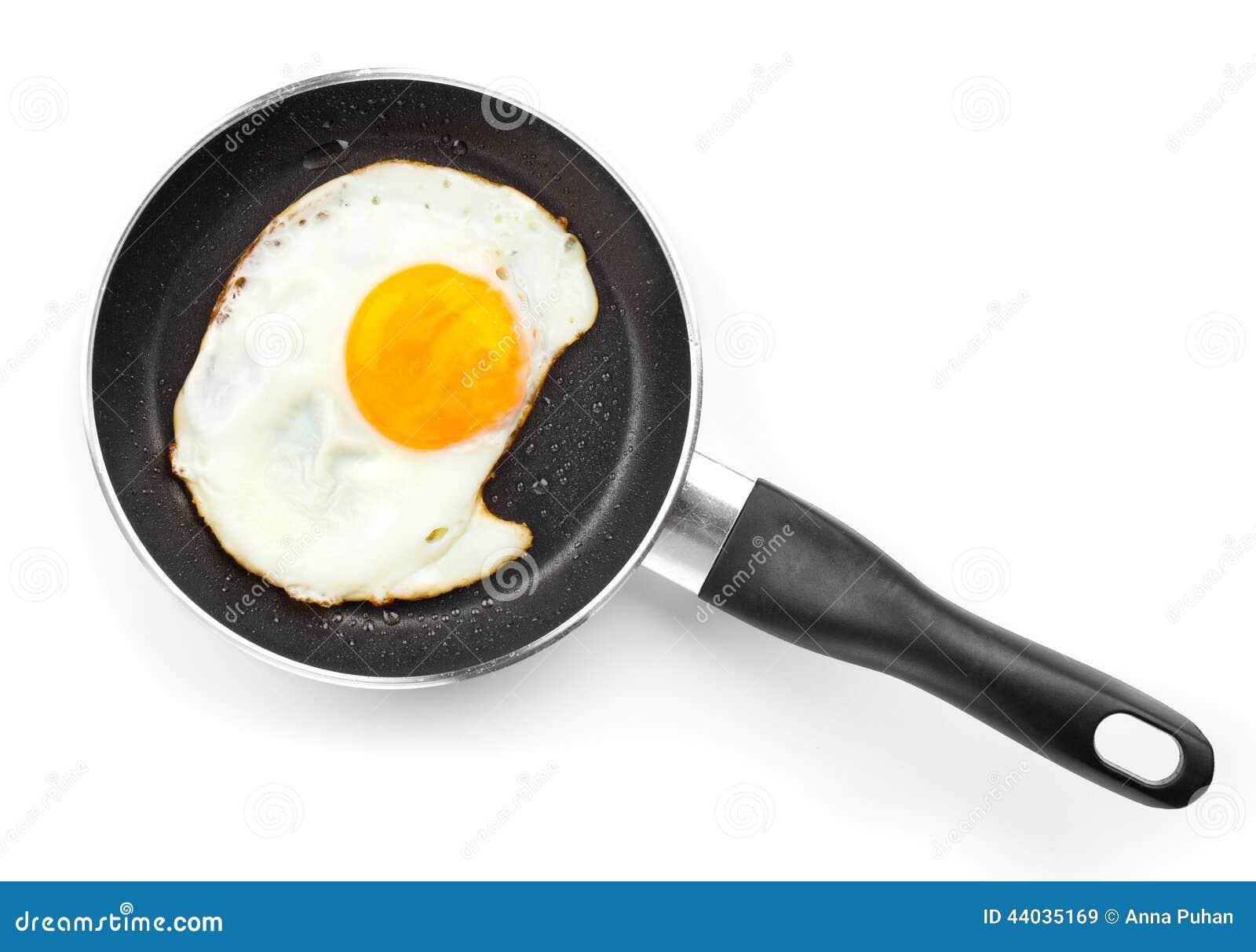 鸡蛋油煎的煎锅