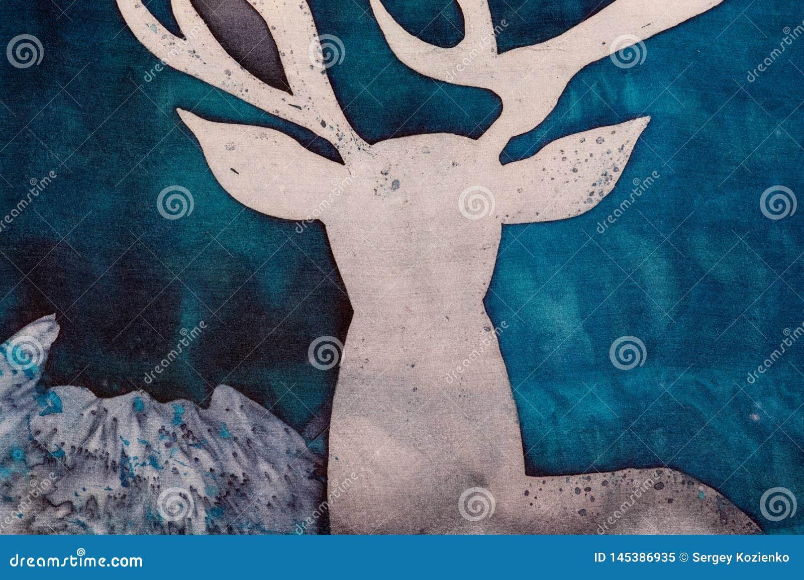 鹿和神秘主义者山,片段