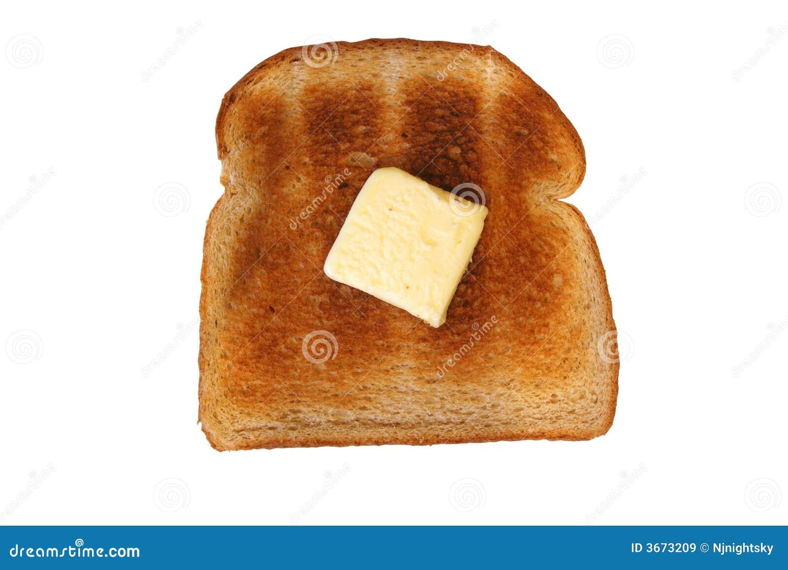 黄油查出的片式多士