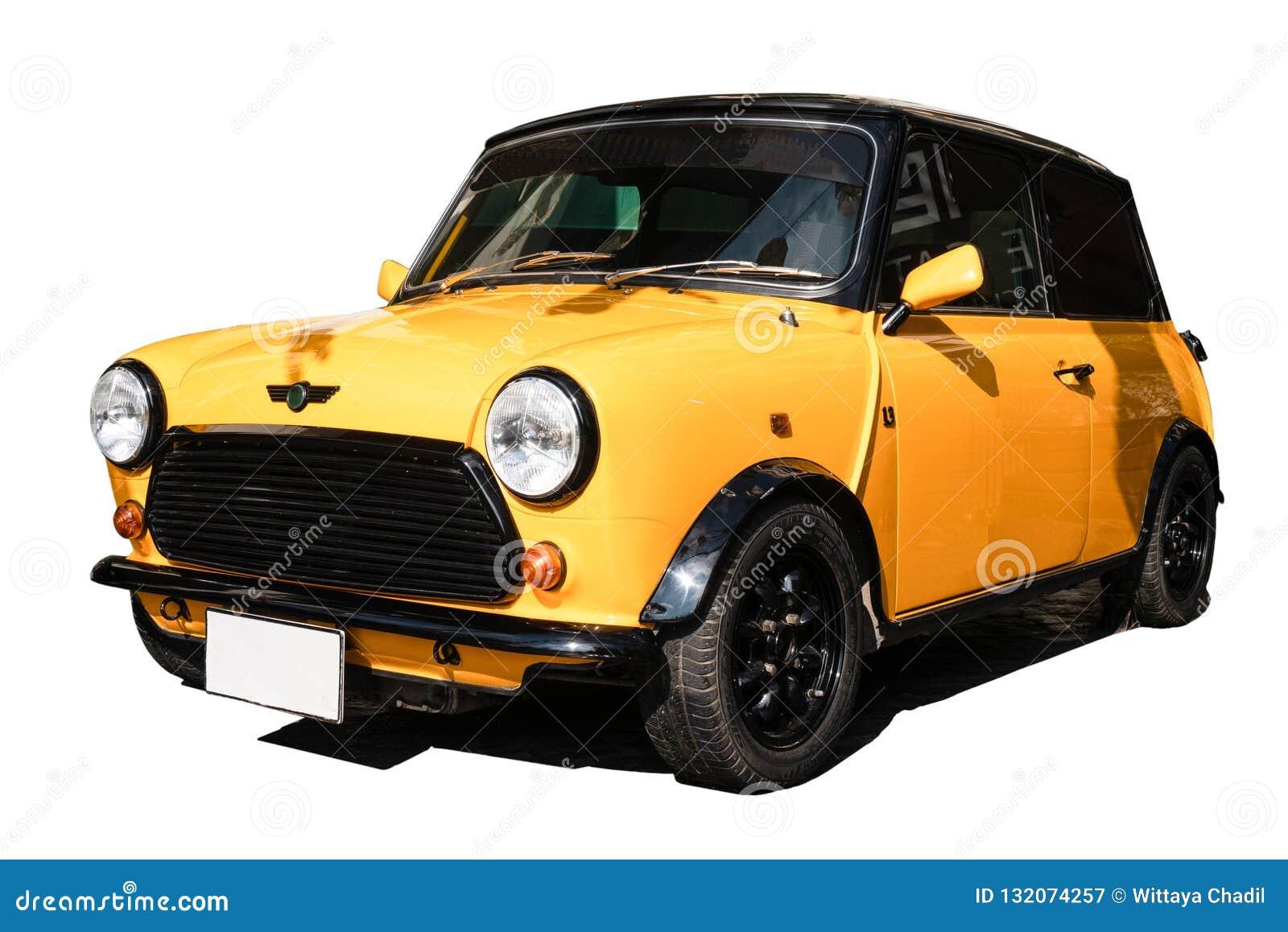 黄色微型木桶匠,欧洲汽车