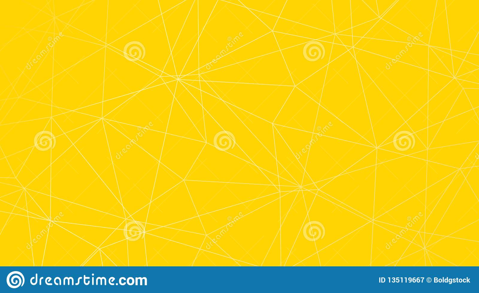 黄色抽象三角传染媒介背景