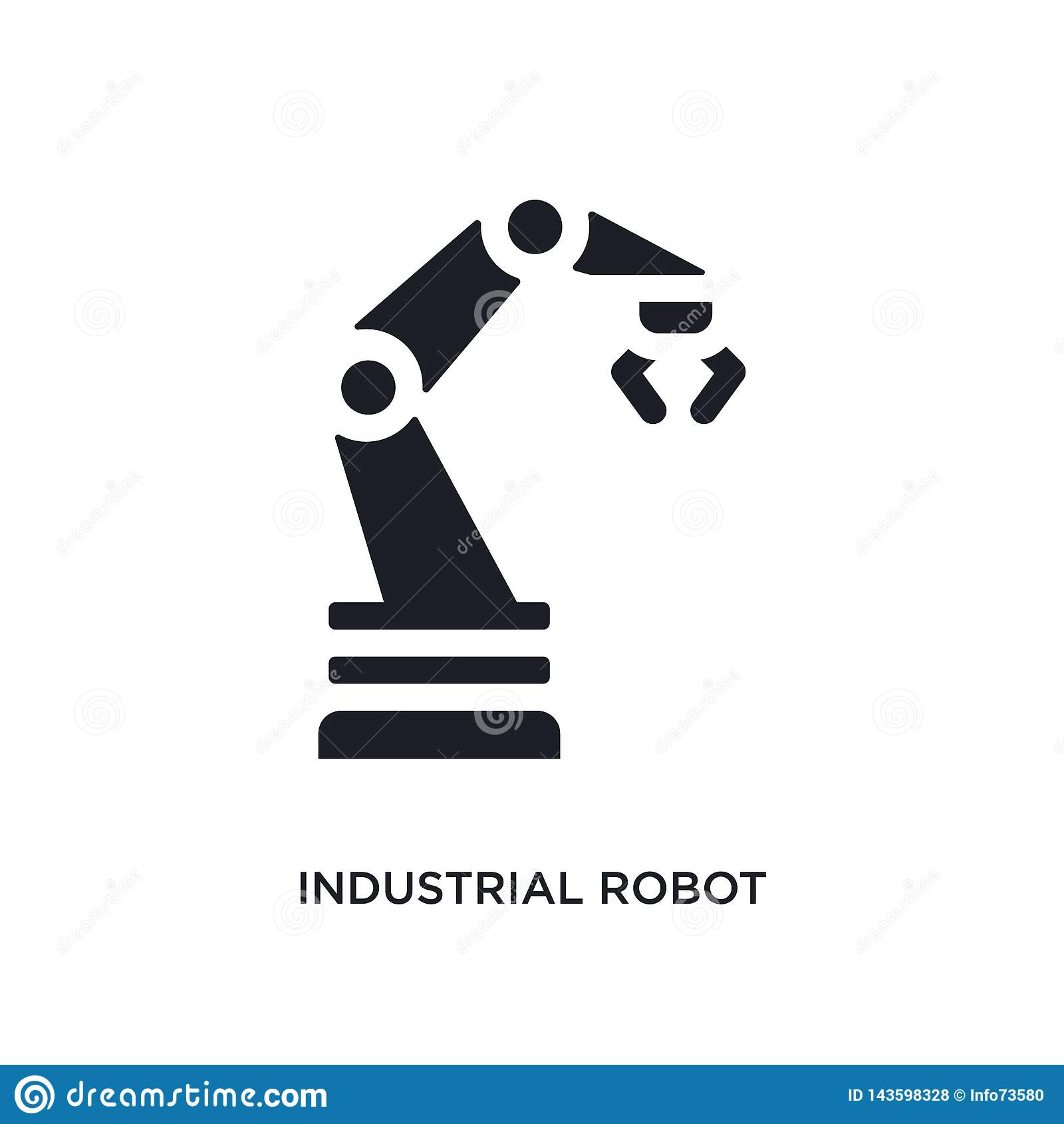 黑产业机器人被隔绝的传染媒介象 r 产业机器人