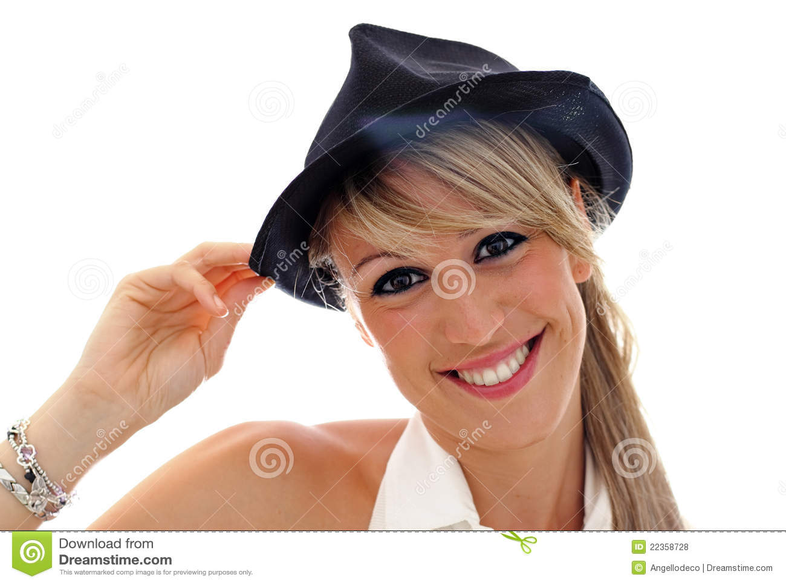 黑帽会议微笑的年轻人