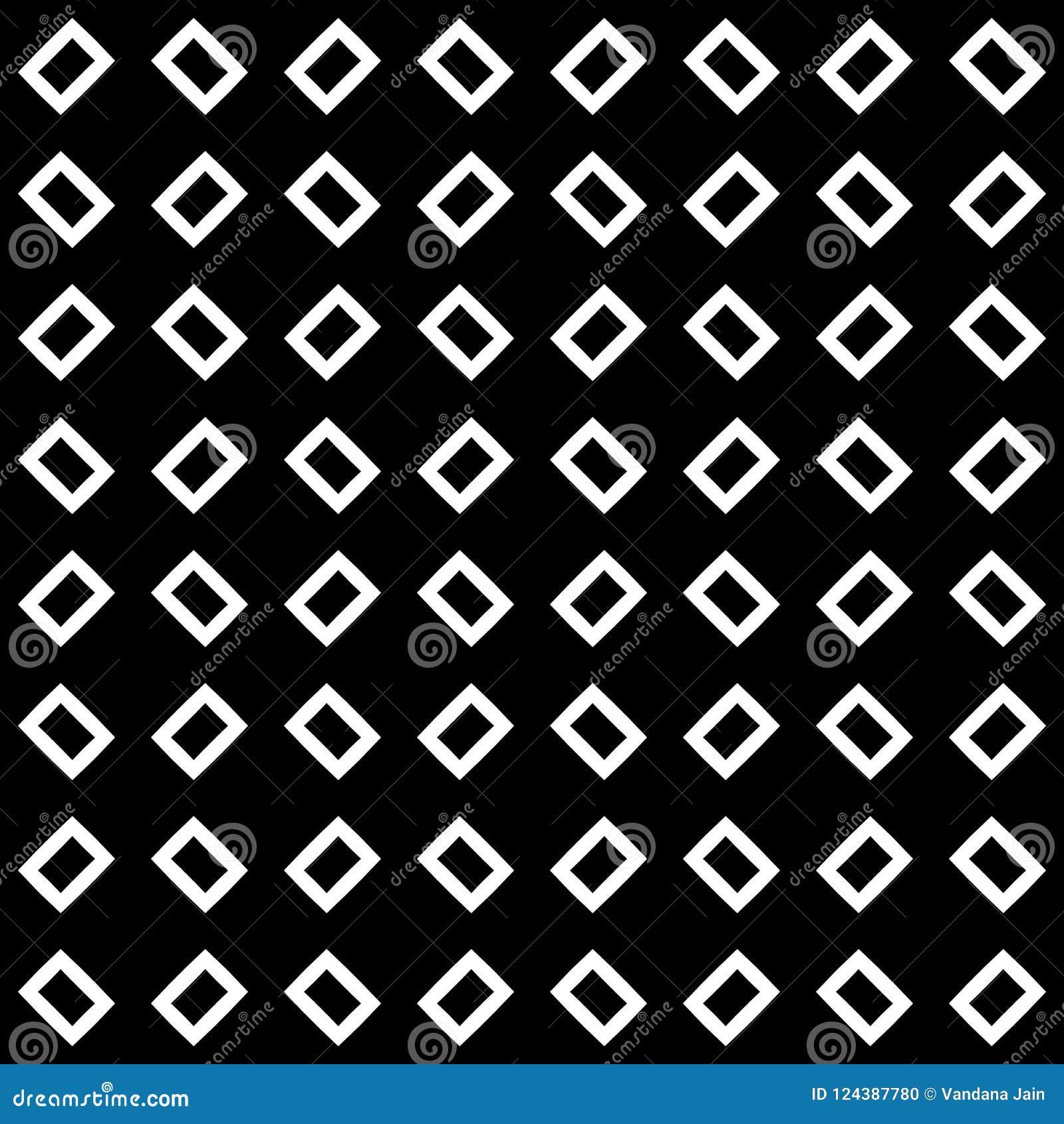 黑白无缝的几何样式