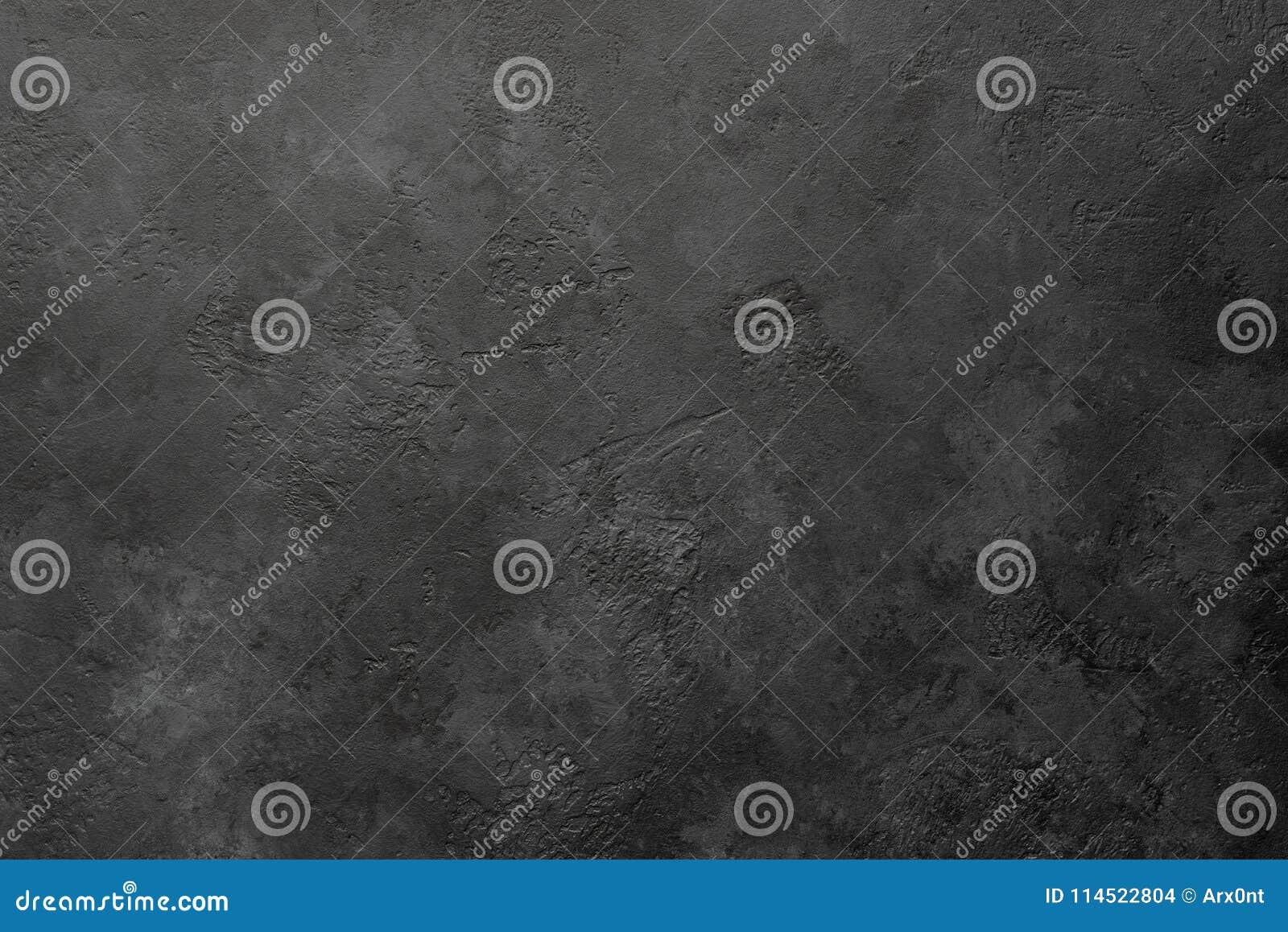 黑石头或板岩背景或者纹理