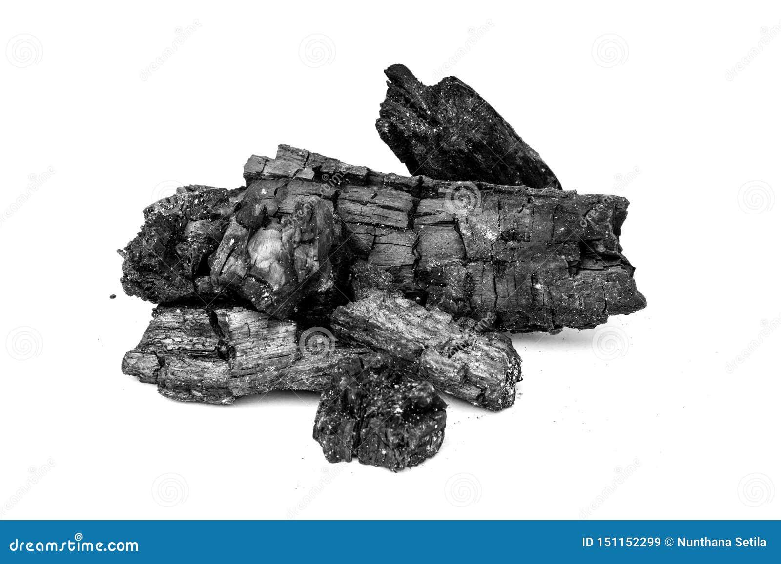 黑自然木炭纹理背景,作为燃料用于工业煤炭