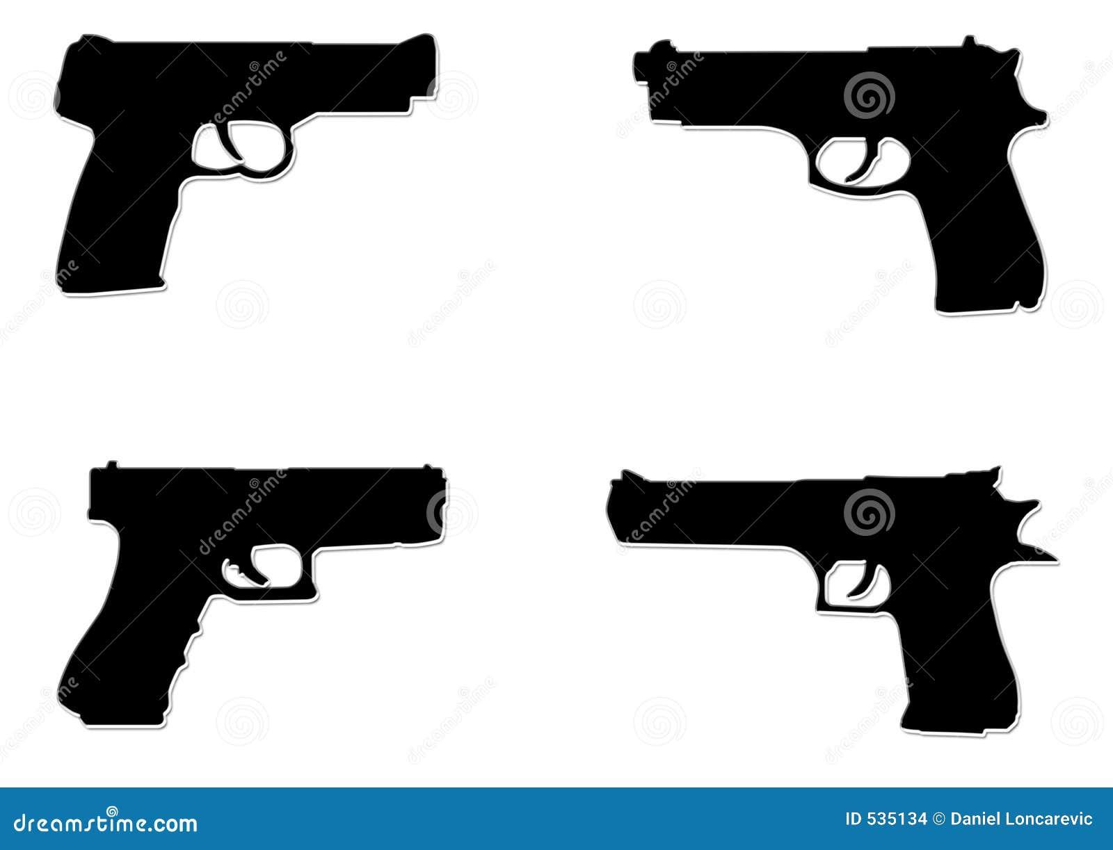 Download 黑色手枪 库存例证. 插画 包括有 孤立, 手枪, 形状, 投反对票, 深奥, 背包, 查出, 背包徒步旅行者 - 535134