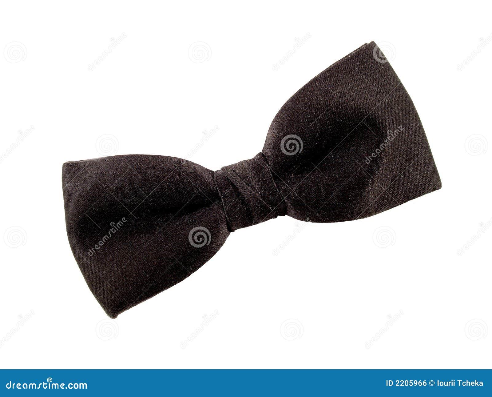黑色蝶形领结