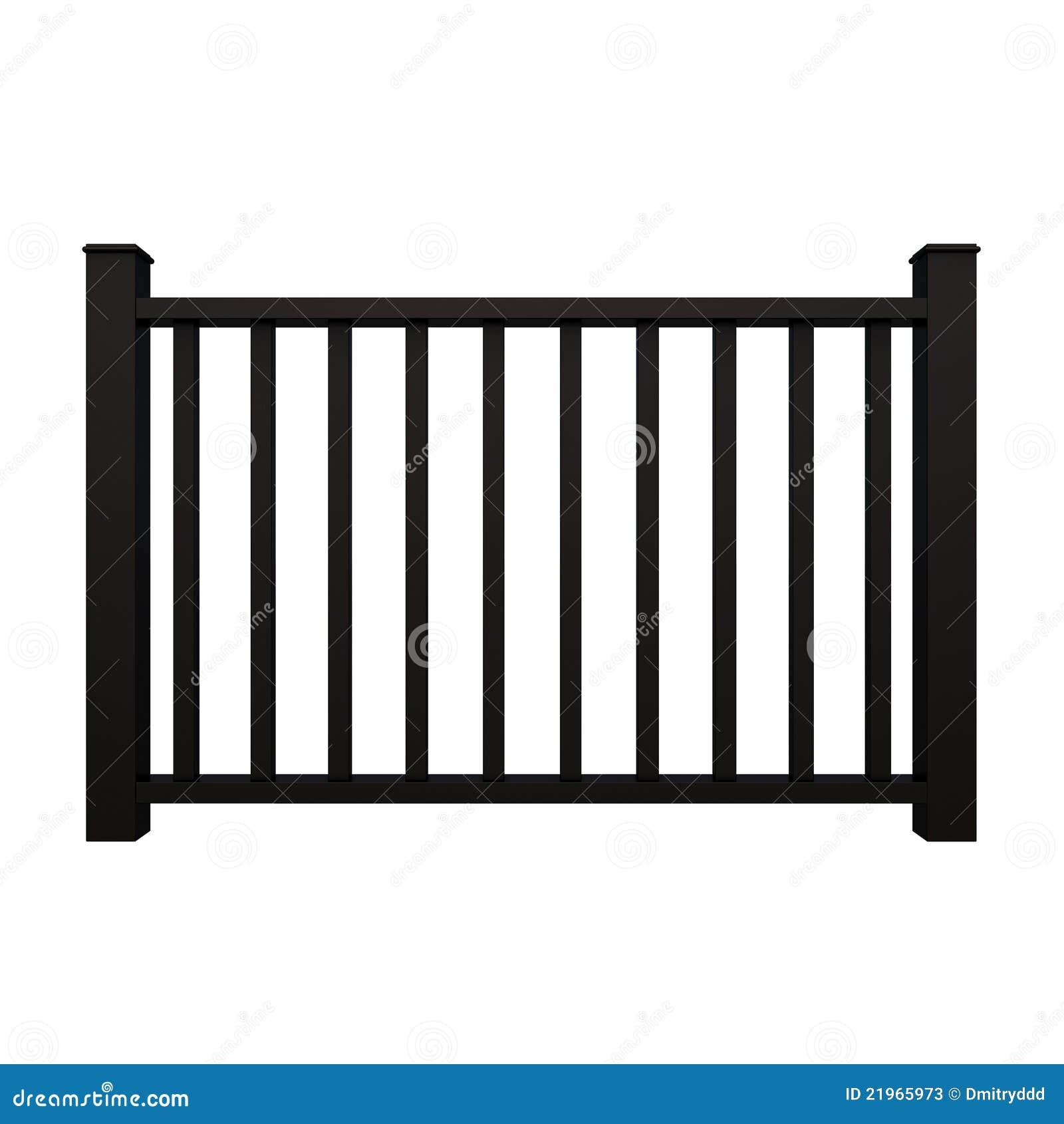 黑色金属栏杆 库存例证 图片 包括有 磨碎 栏杆 金属 投反对票 设计 网关 住宅 孤立