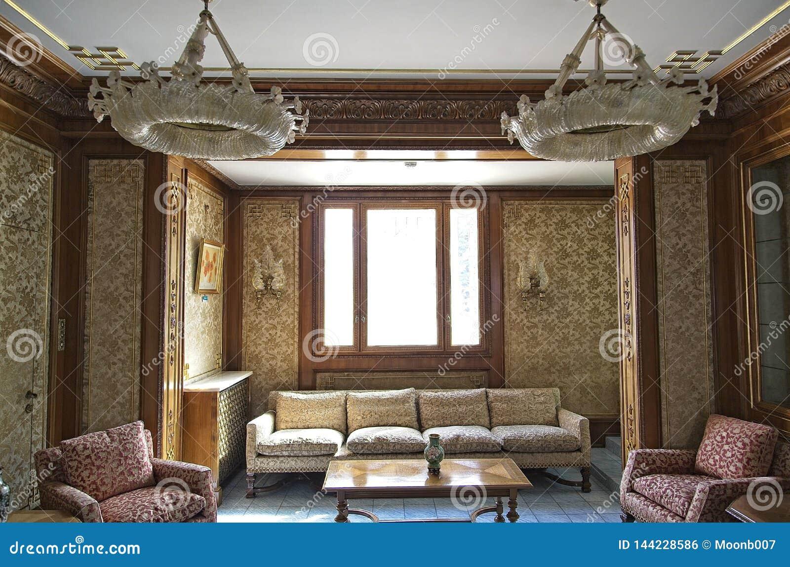 齐奥塞斯库宫殿客厅