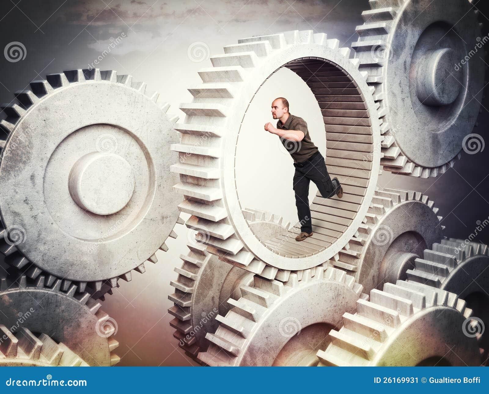 齿轮的工作者